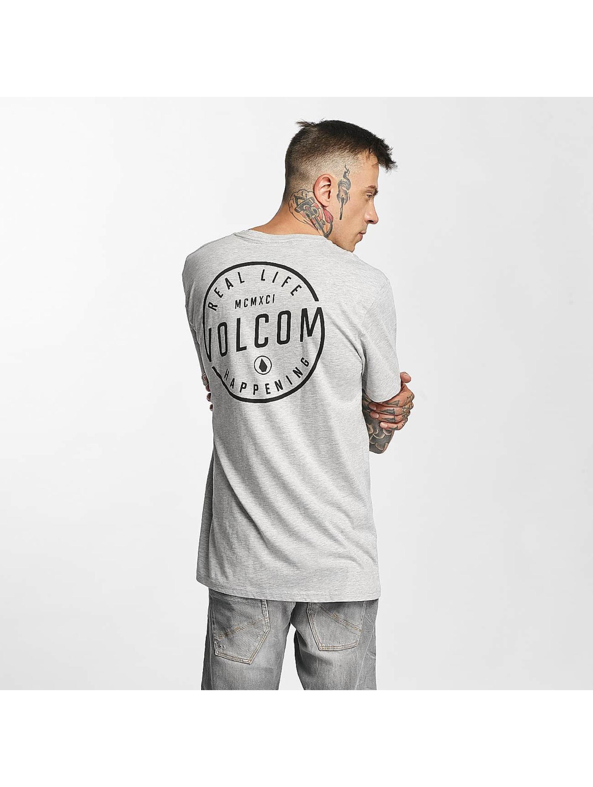 Volcom T-Shirt On Look Basic grau