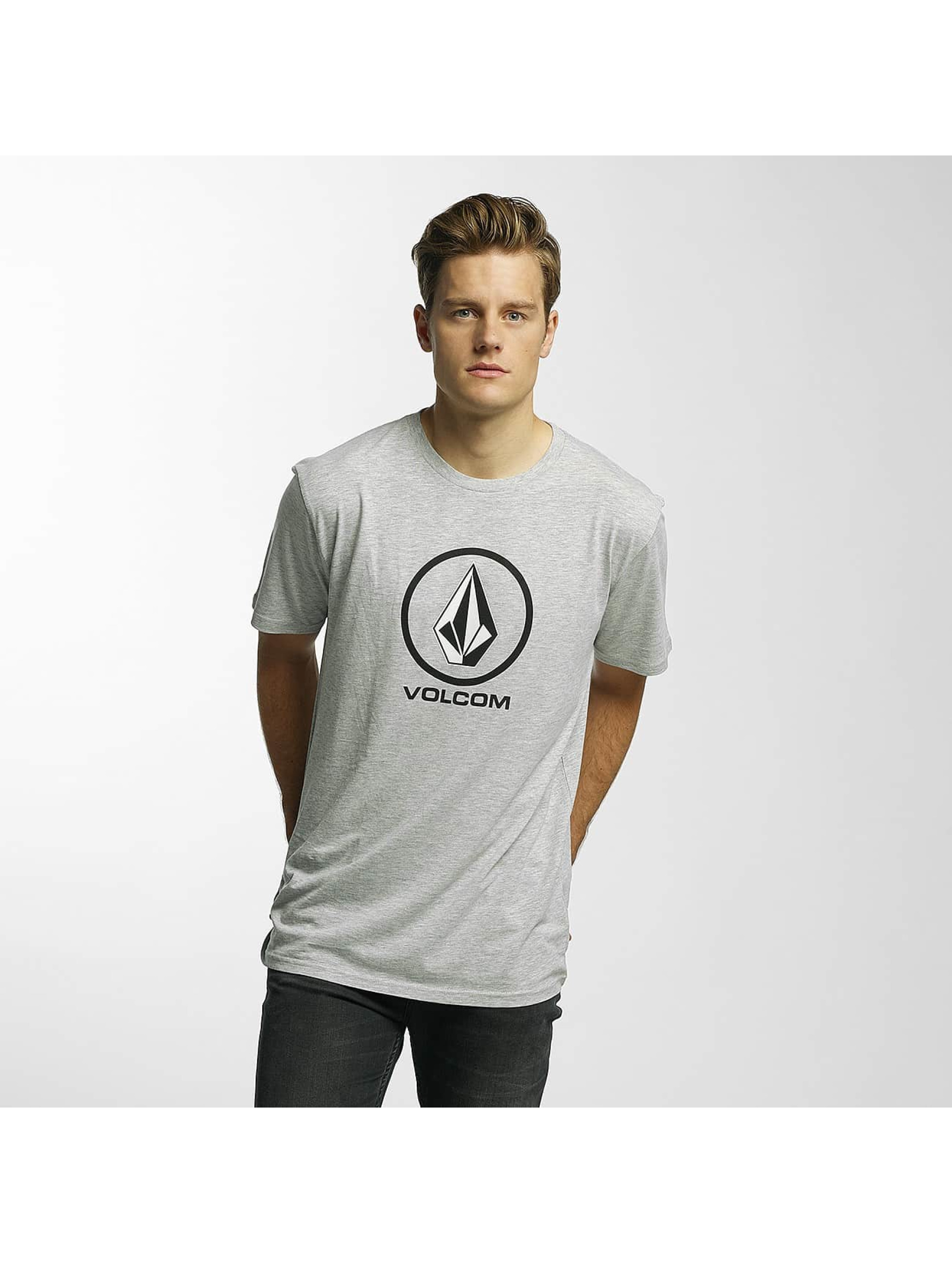 Volcom T-Shirt Circle Stone Basic gray