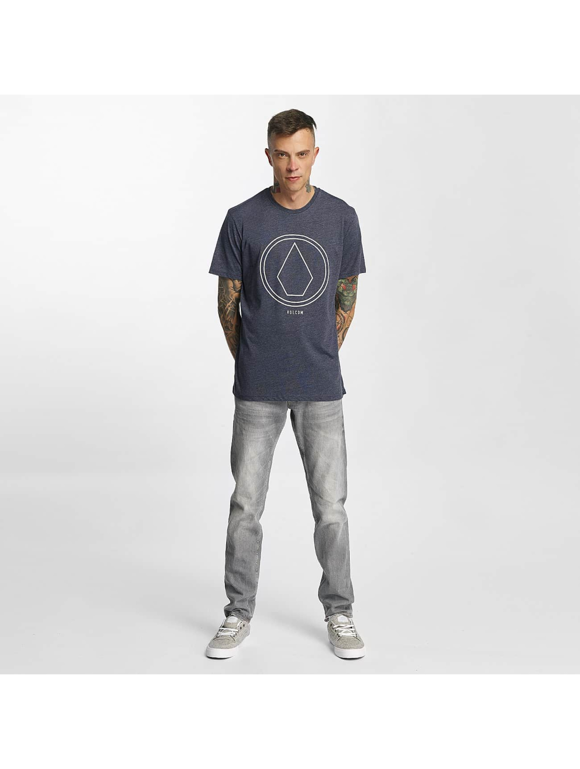 Volcom T-Shirt Pinline Stone Heather indigo