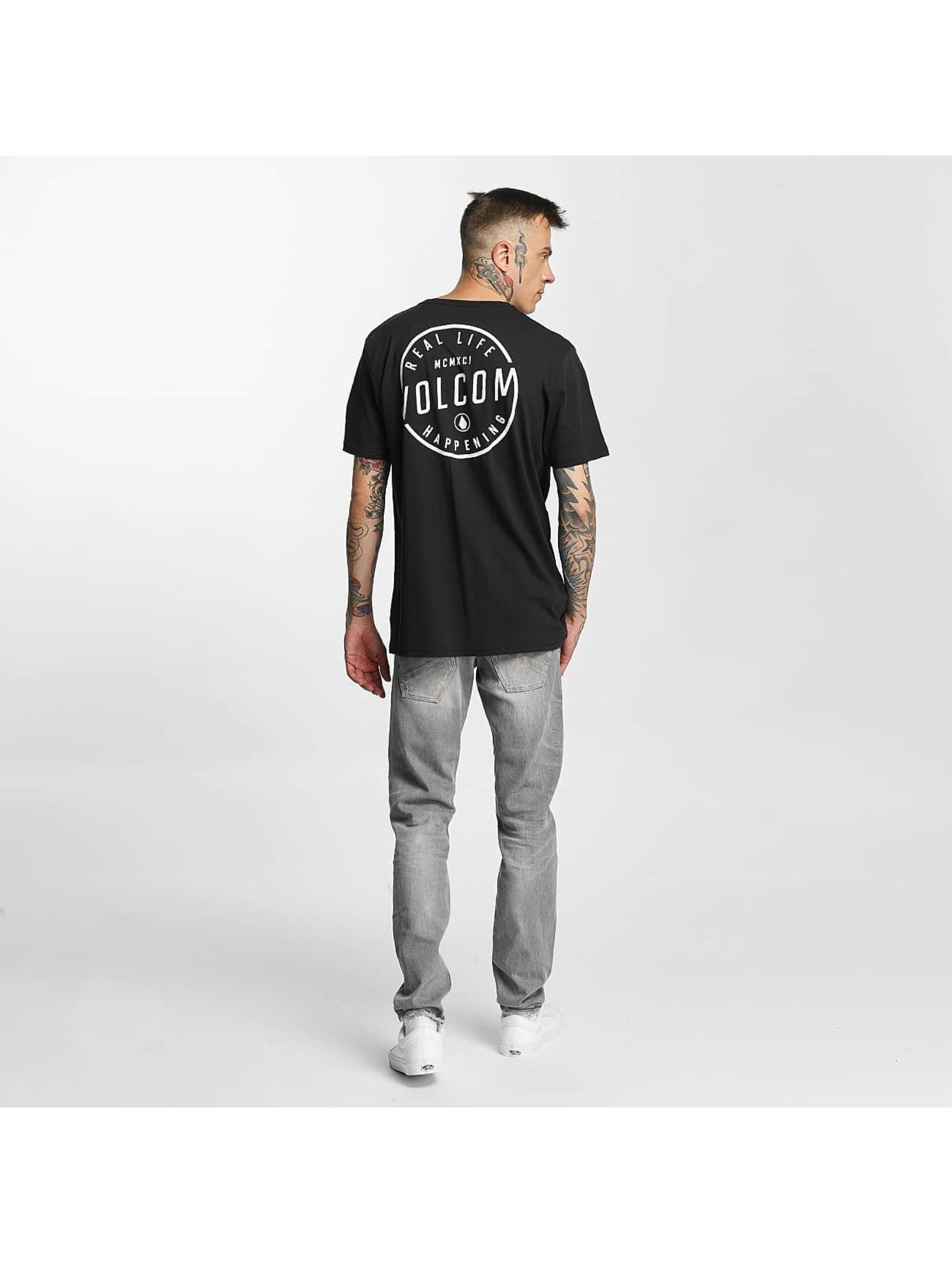 Volcom T-Shirt On Look Basic schwarz