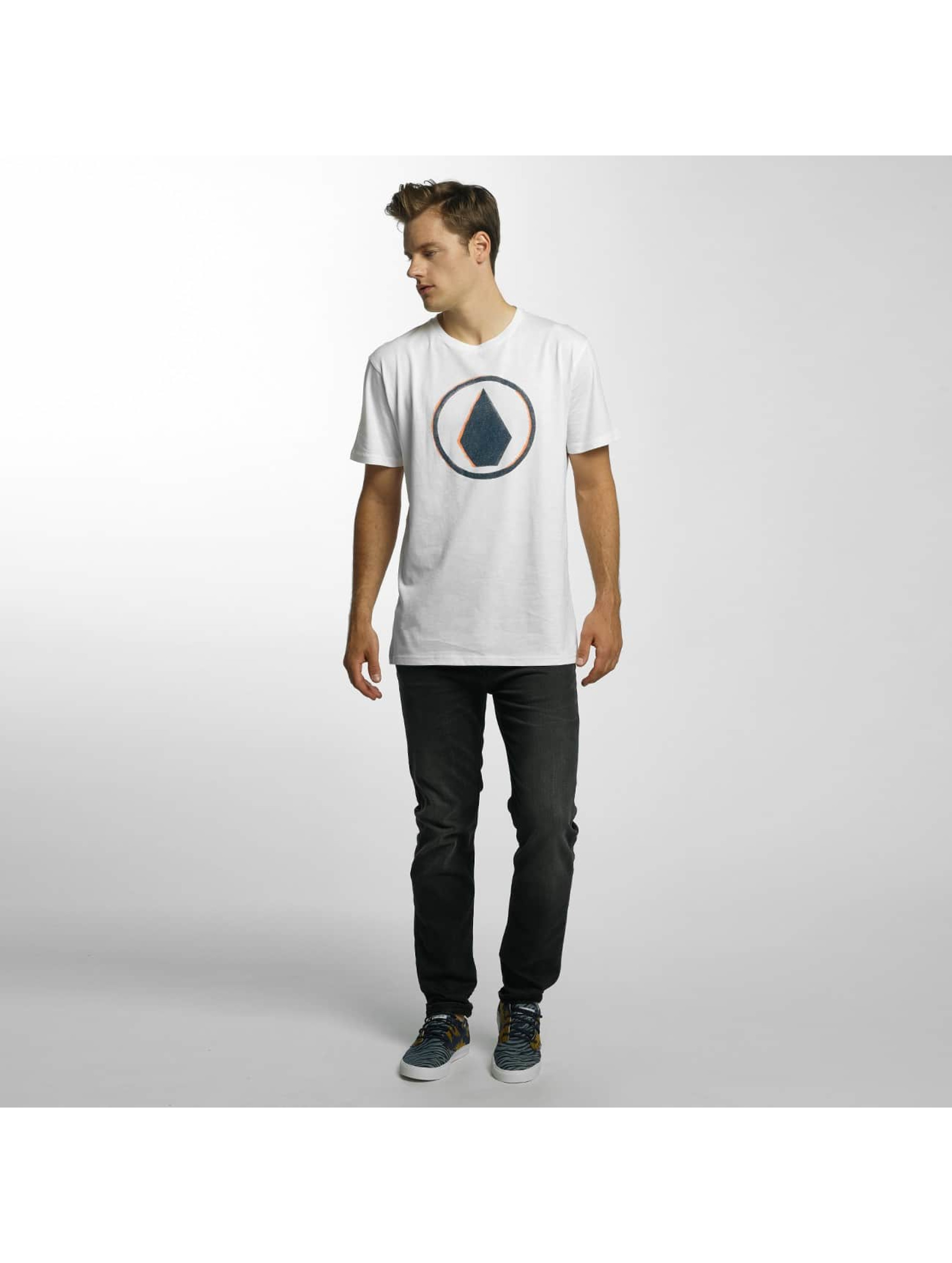 Volcom T-Shirt Burnt Basic weiß