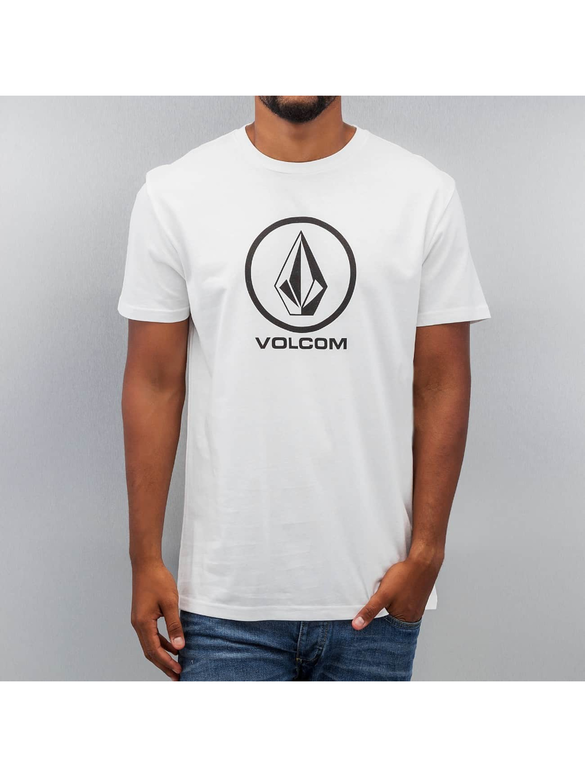 Volcom T-Shirt Circle Stone white