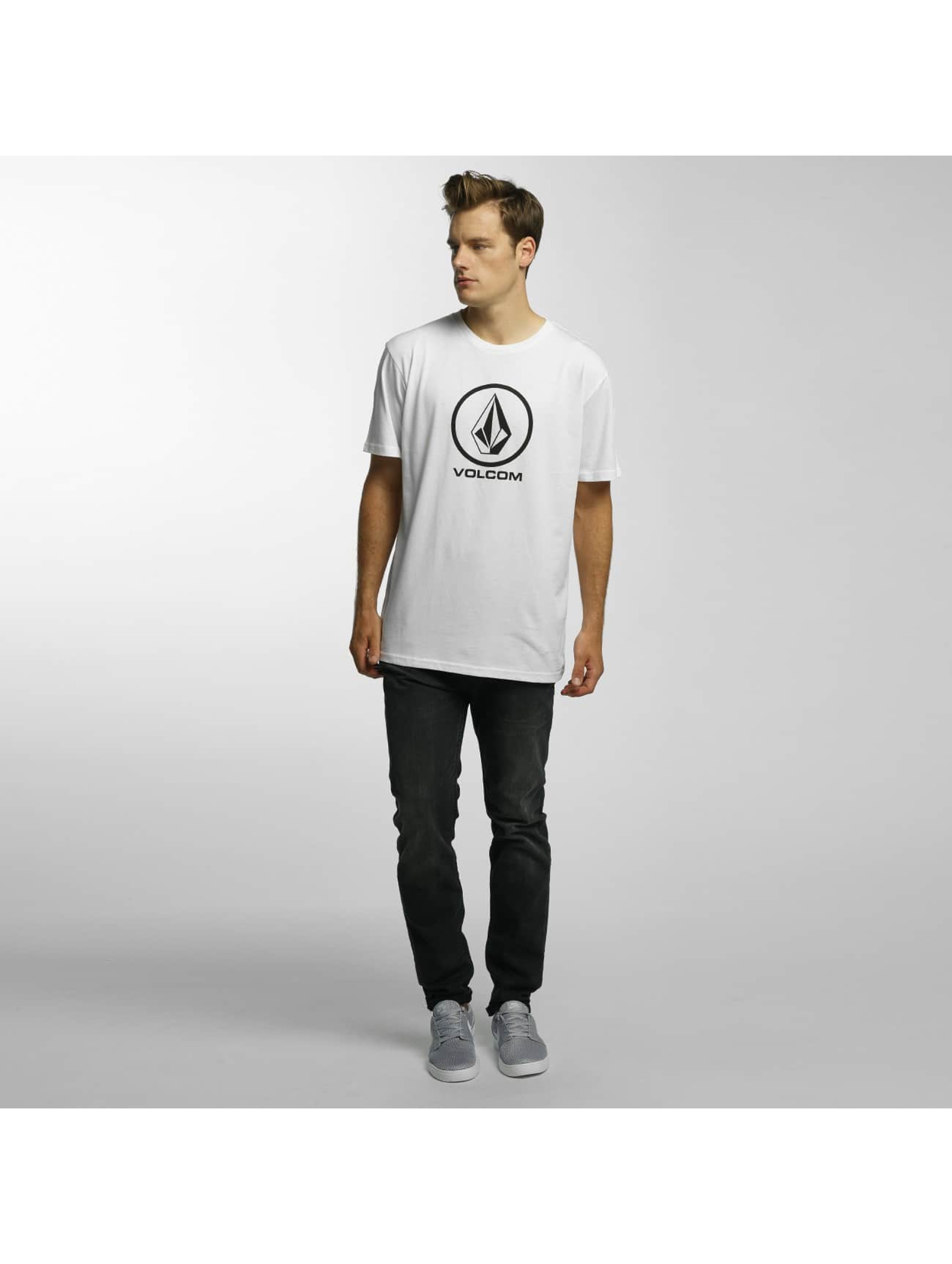Volcom T-Shirt Circle Stone Basic white