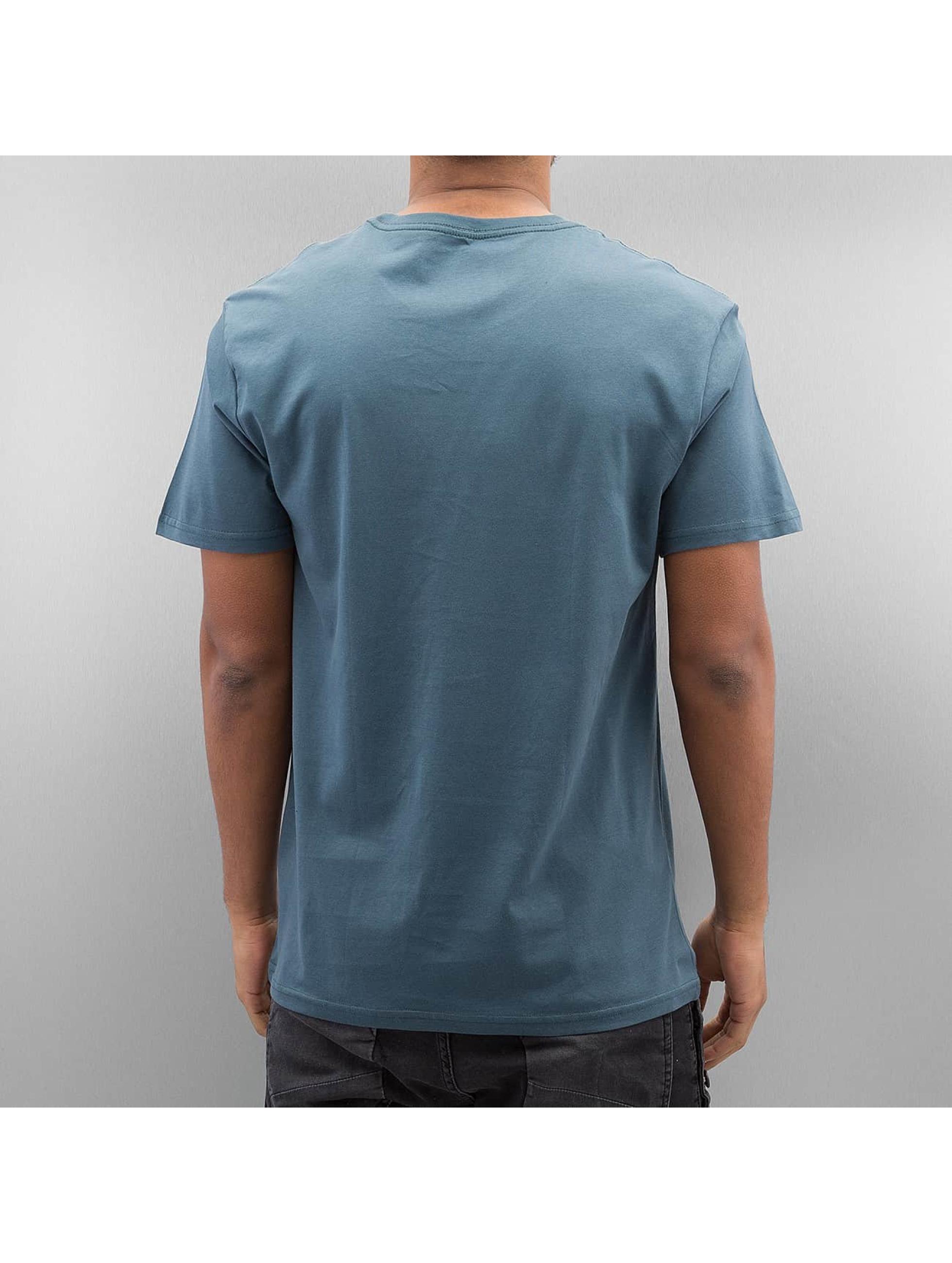 Volcom T-shirts Stone Stamp blå