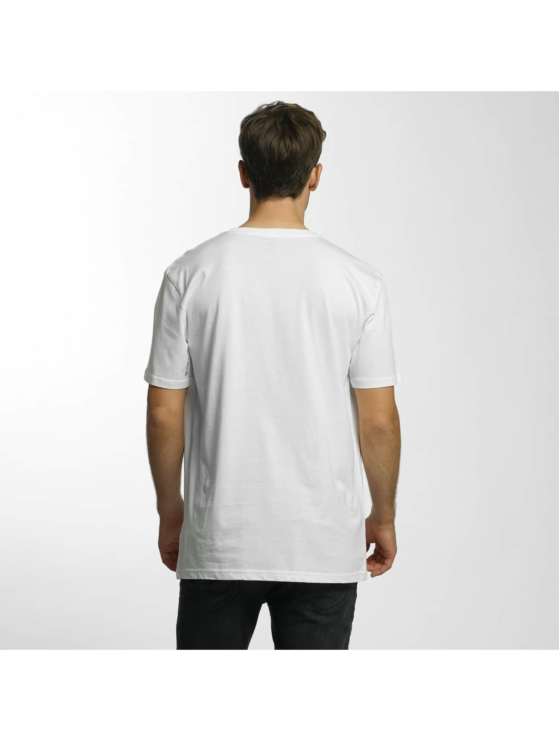 Volcom T-shirts Circle Stone Basic hvid