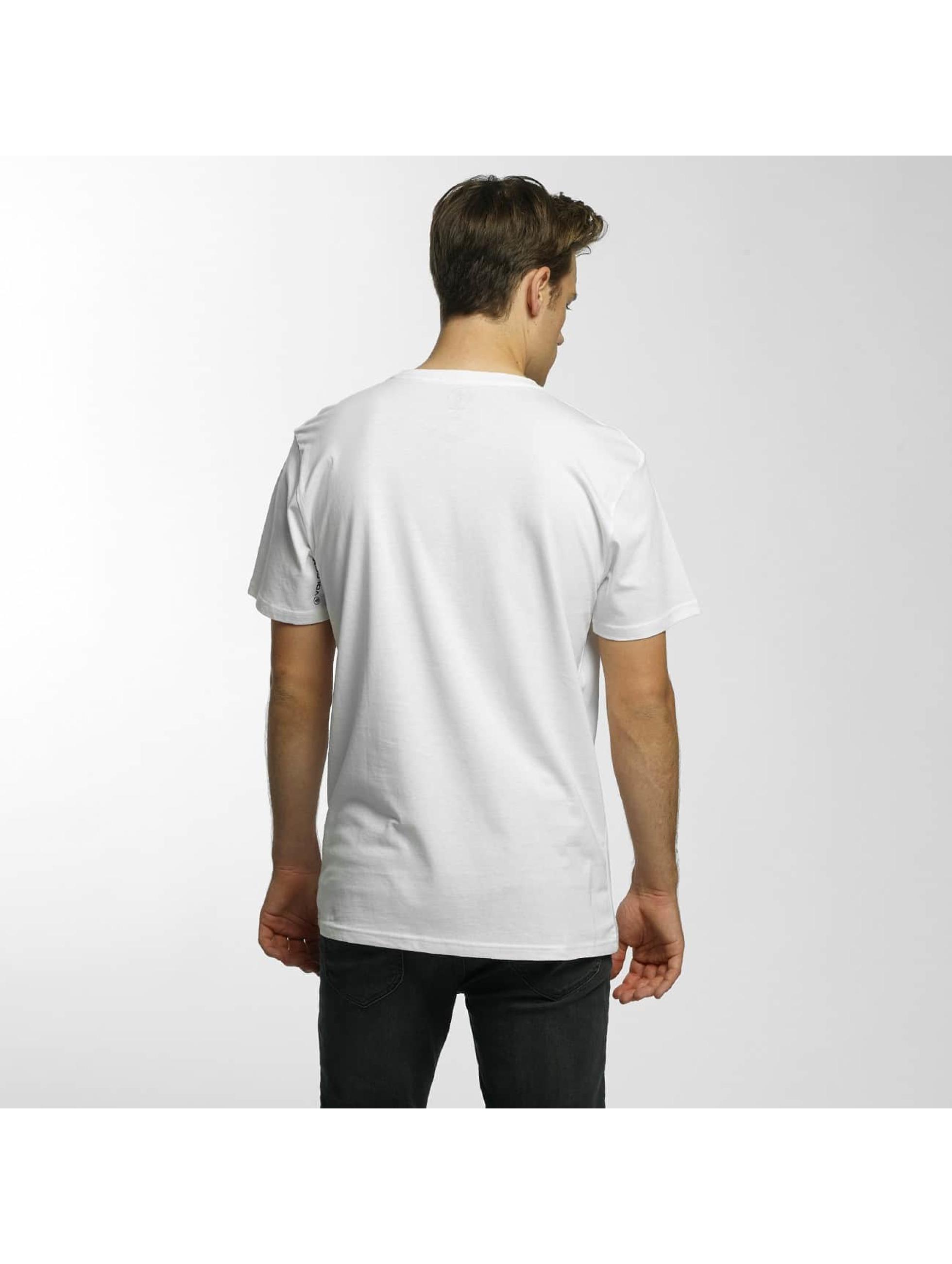 Volcom T-Shirty Burnt Basic bialy