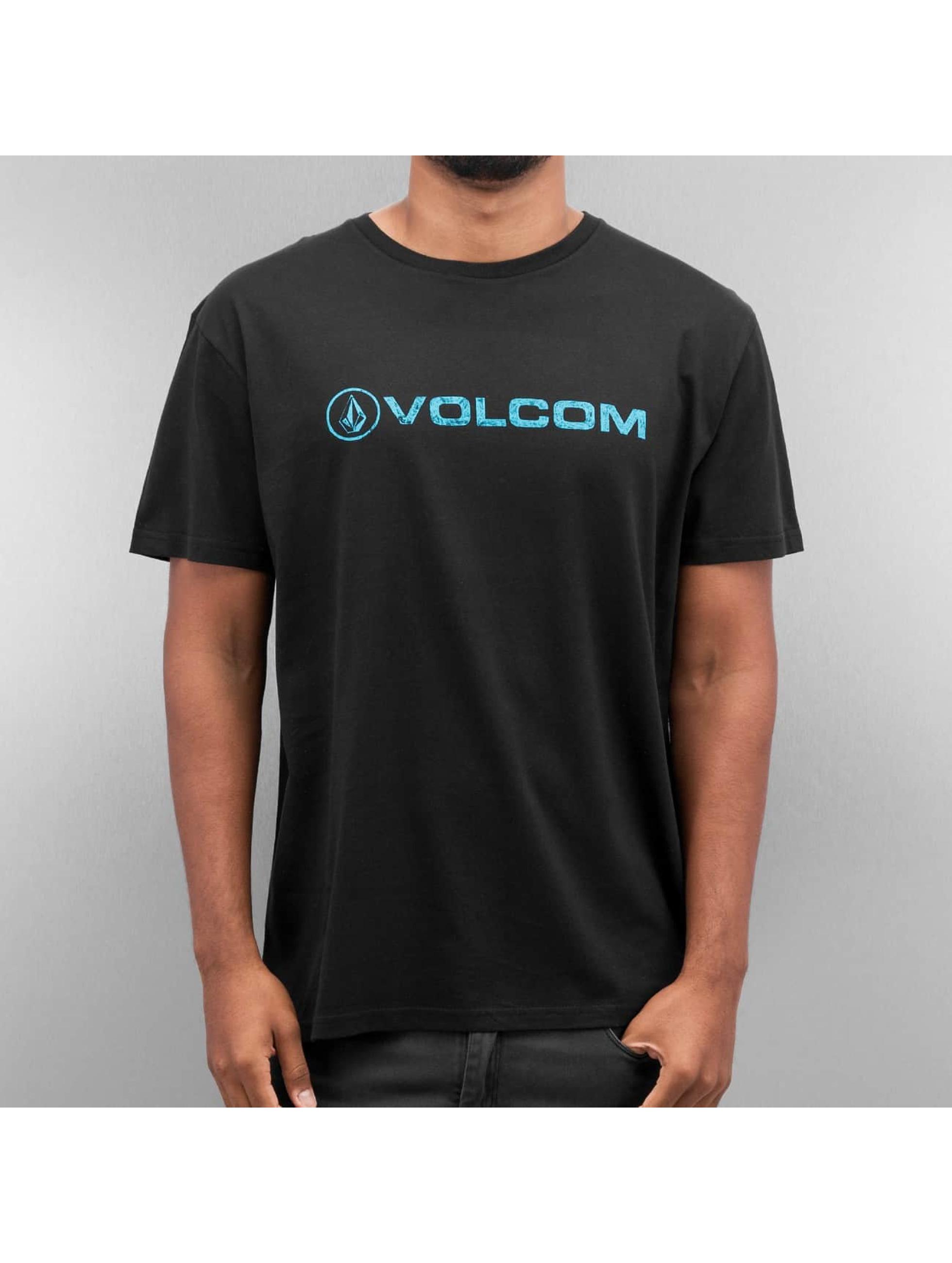 Volcom T-Shirty Euro Pencil czarny