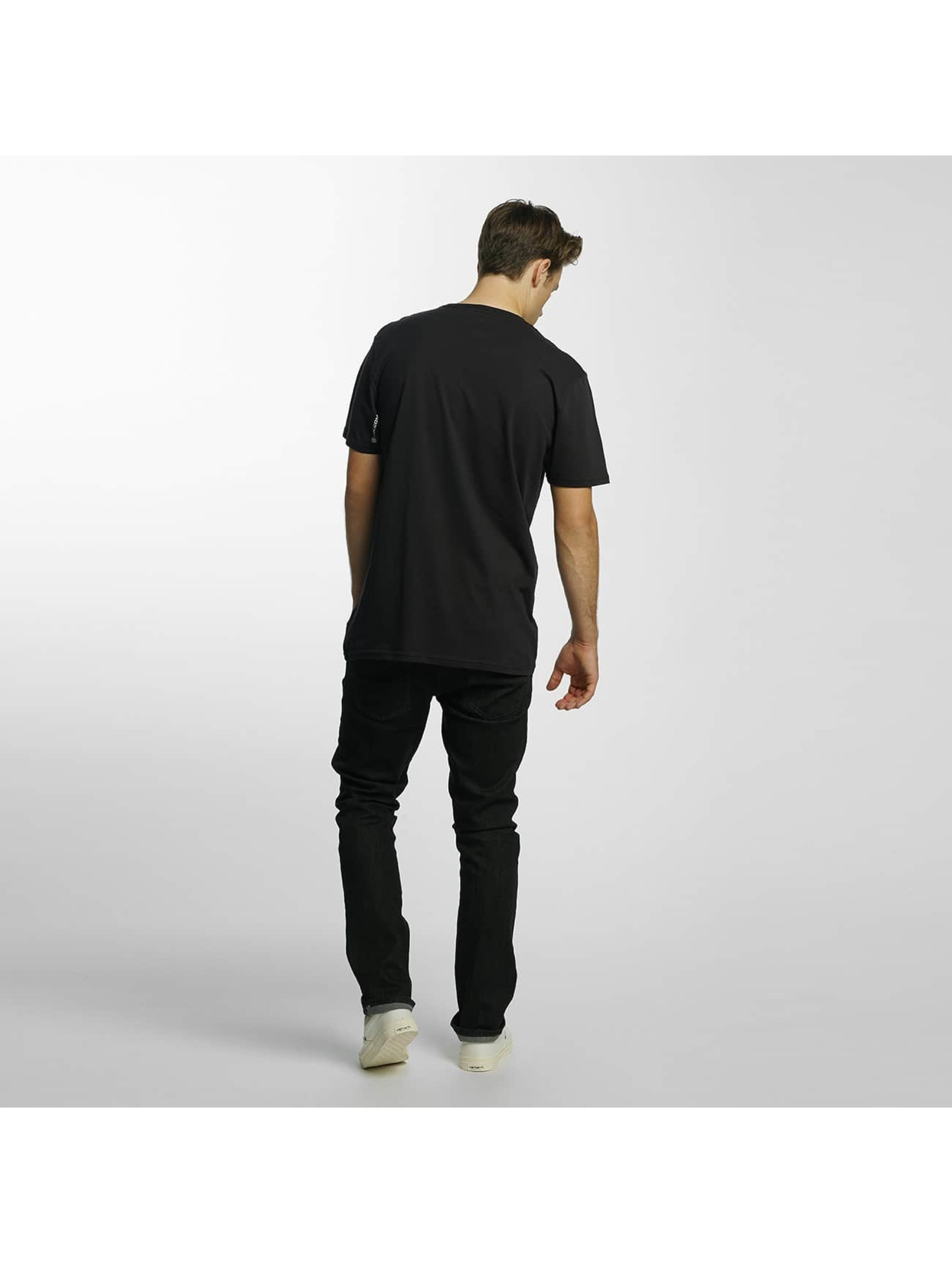 Volcom T-Shirty Line Euro Basic czarny