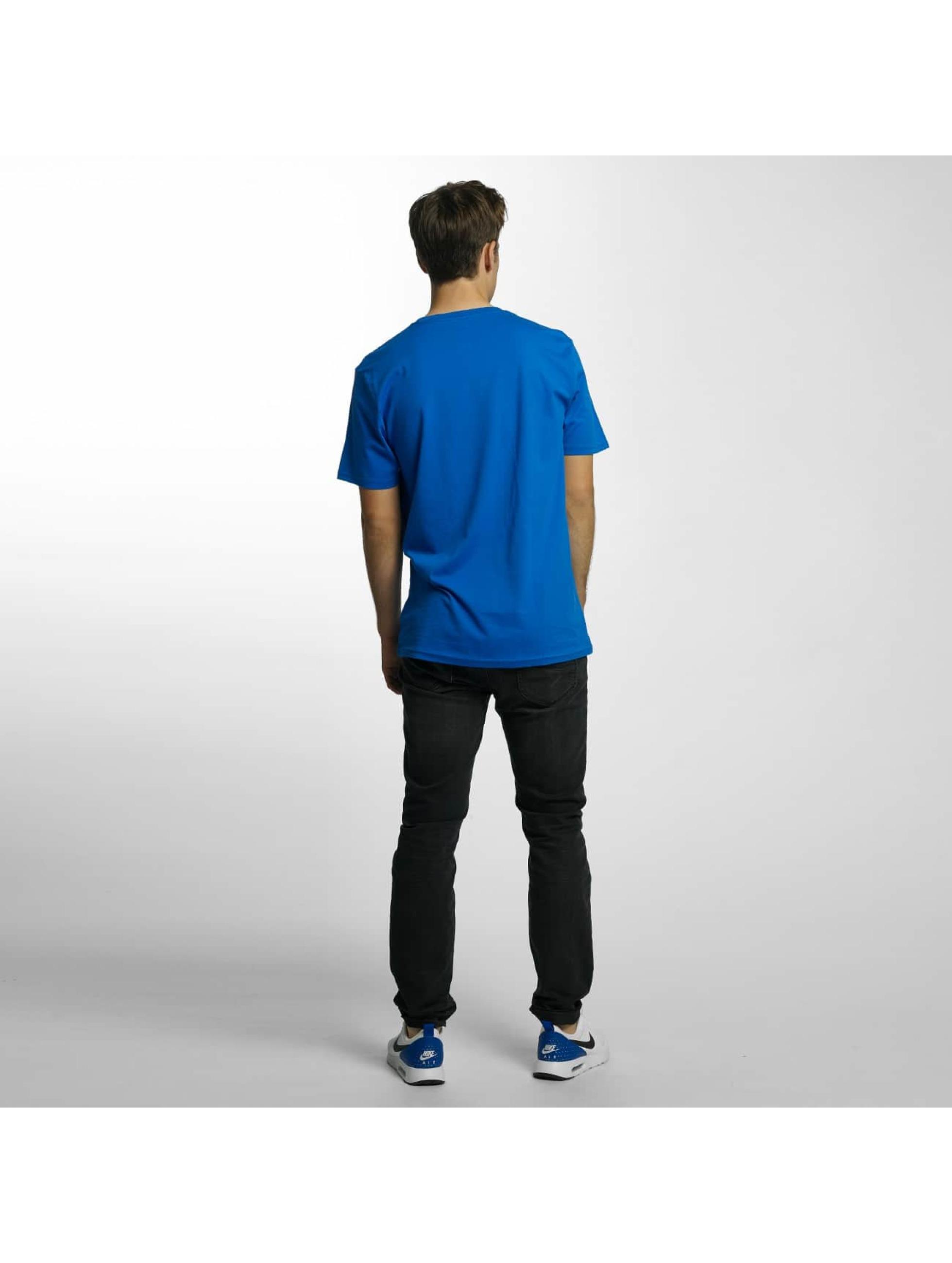 Volcom T-Shirty Line Euro Basic niebieski