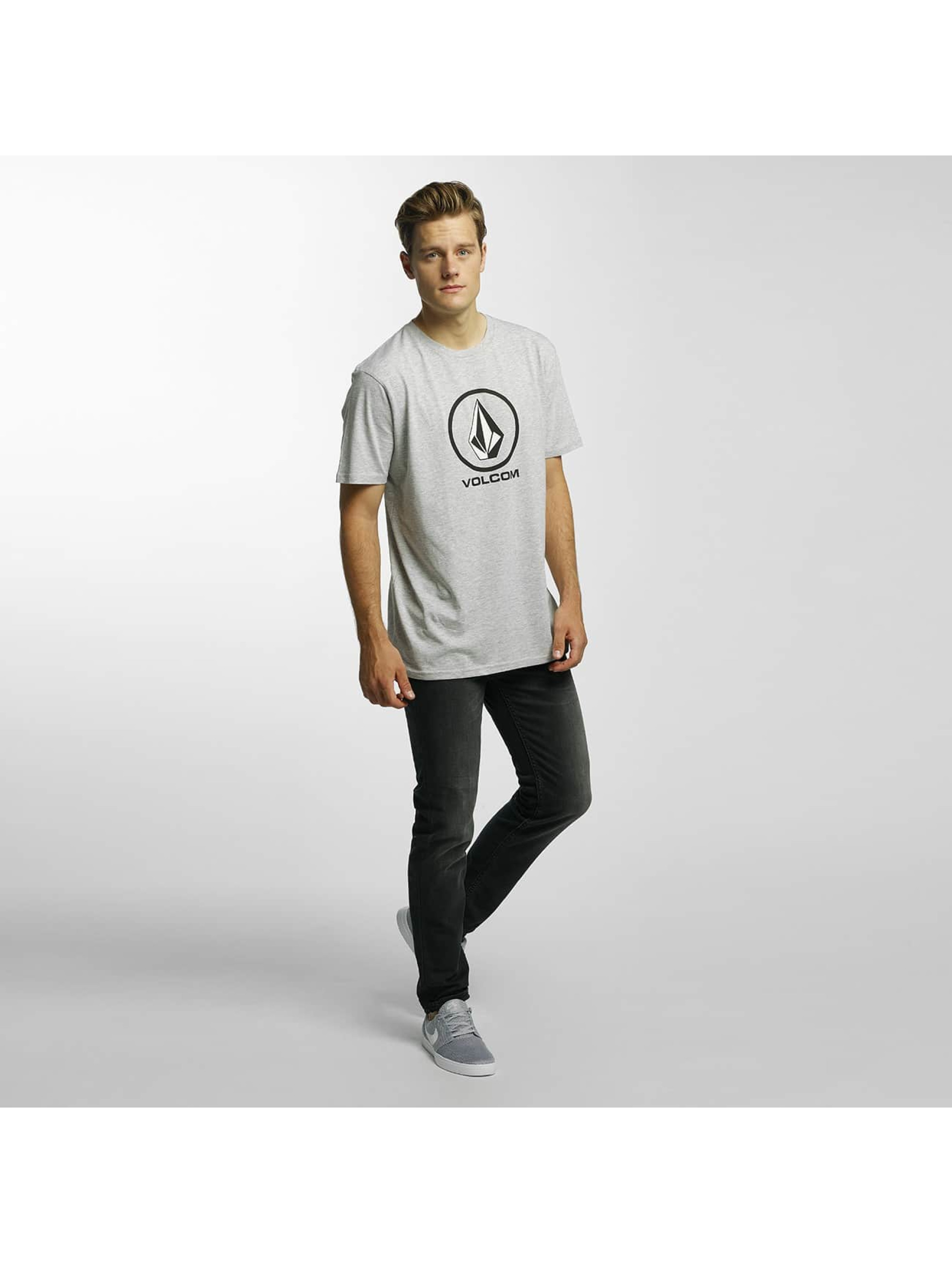 Volcom T-Shirty Circle Stone Basic szary