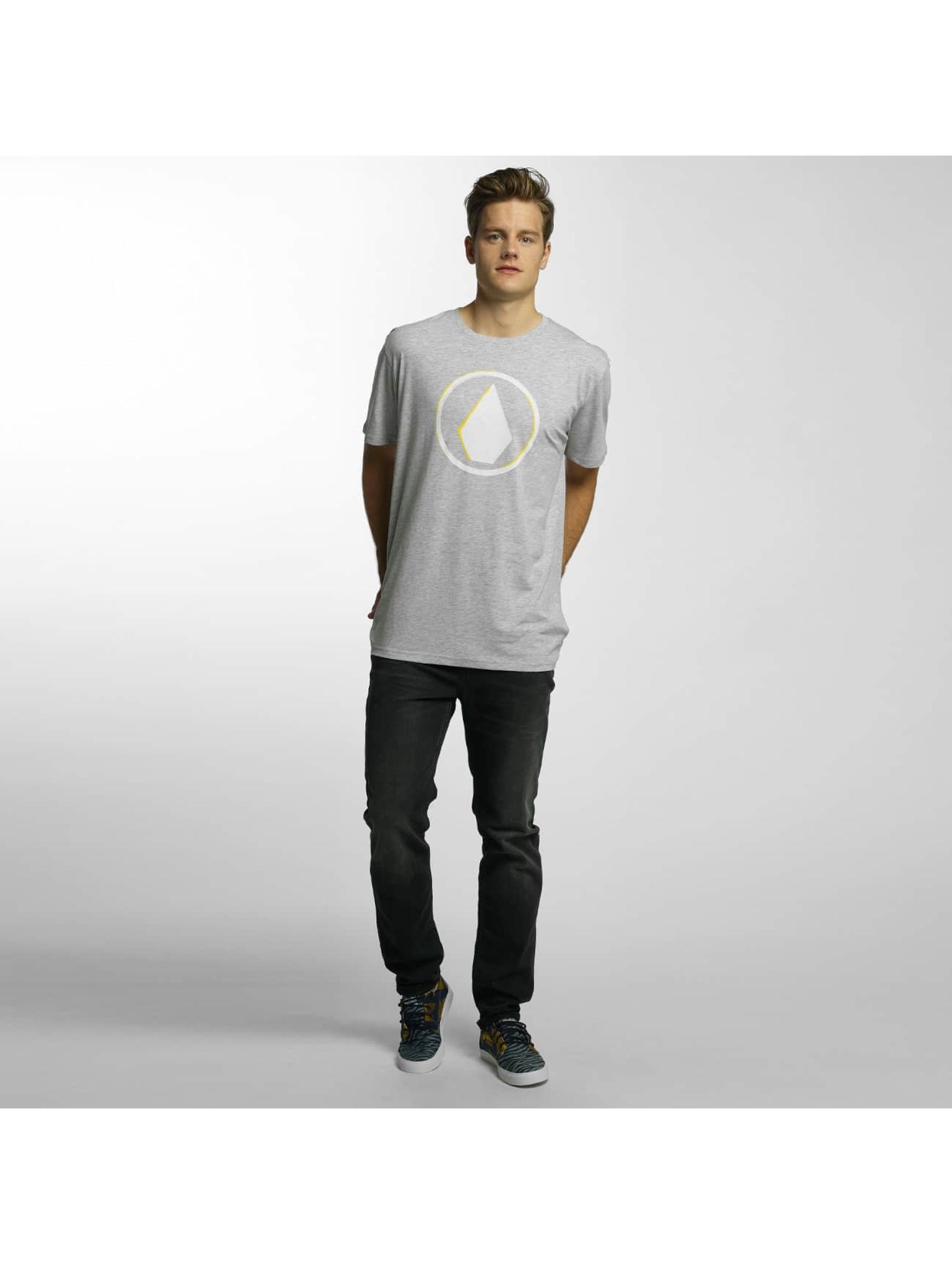 Volcom T-Shirty Burnt Basic szary