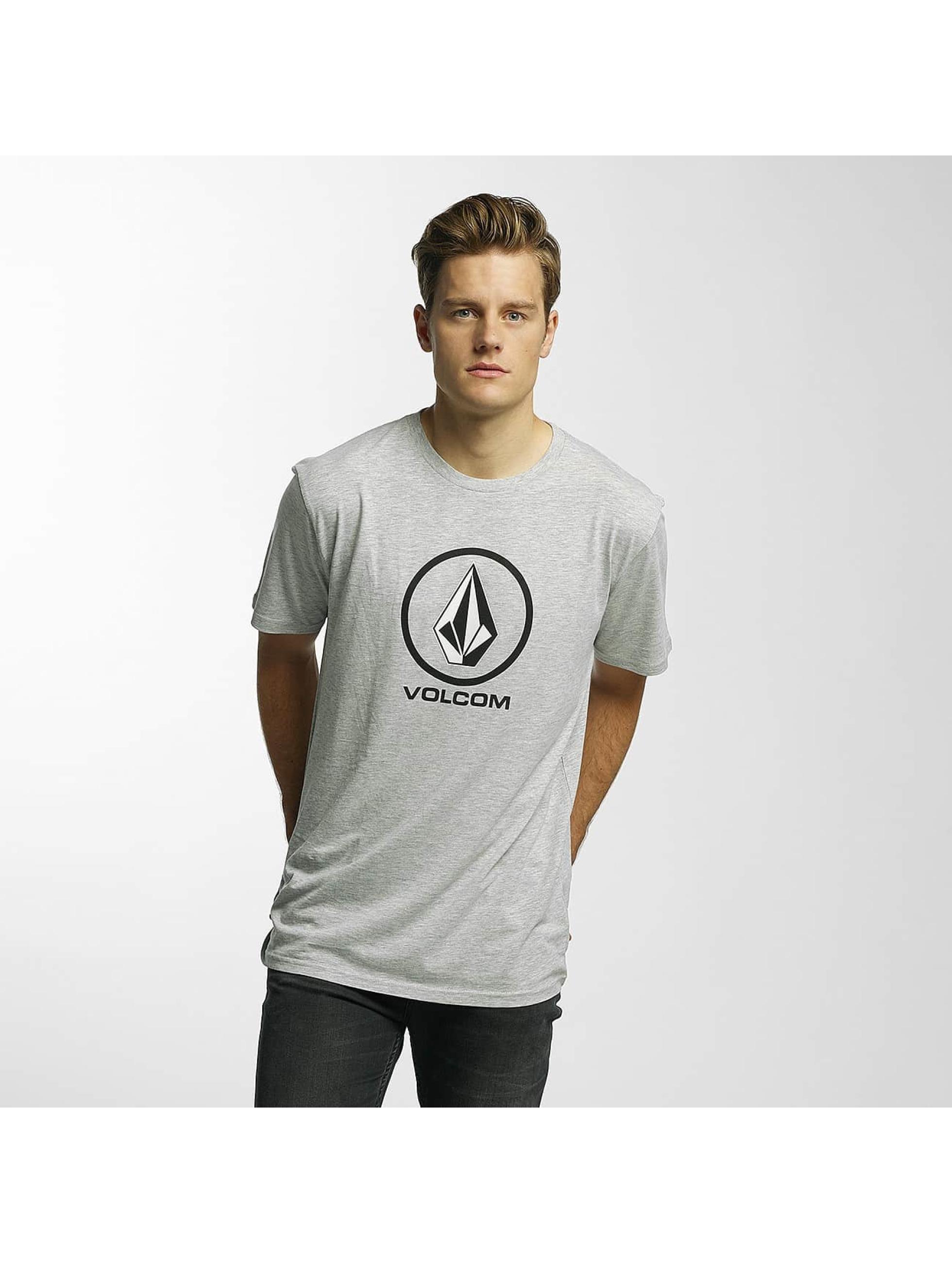 Volcom T-skjorter Circle Stone Basic grå