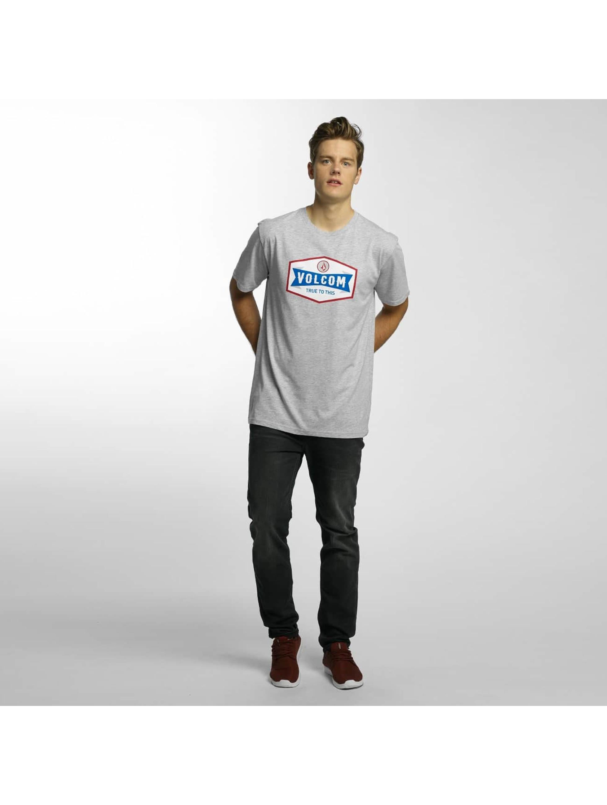 Volcom T-skjorter Budy Basic grå