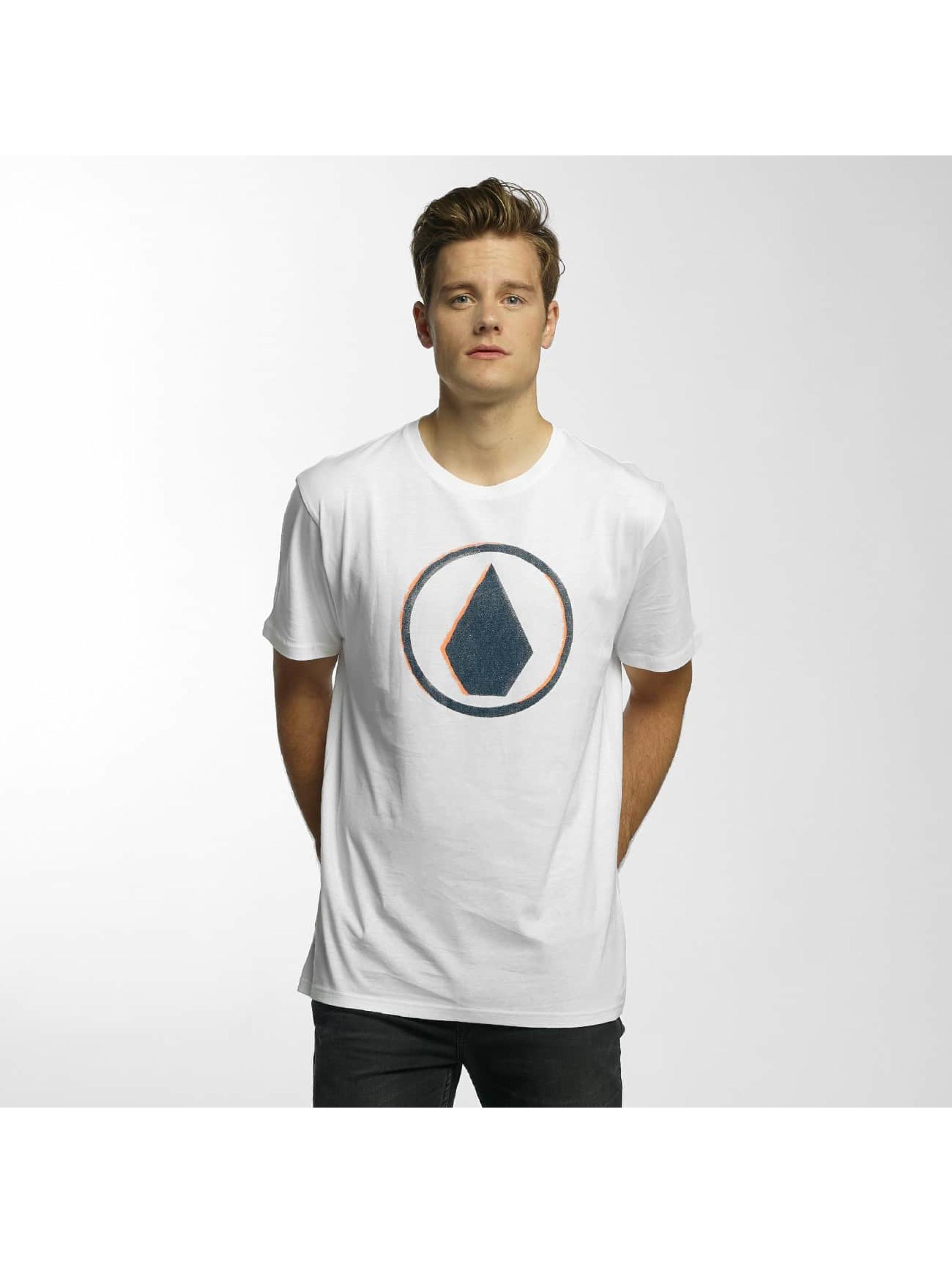 Volcom T-skjorter Burnt Basic hvit