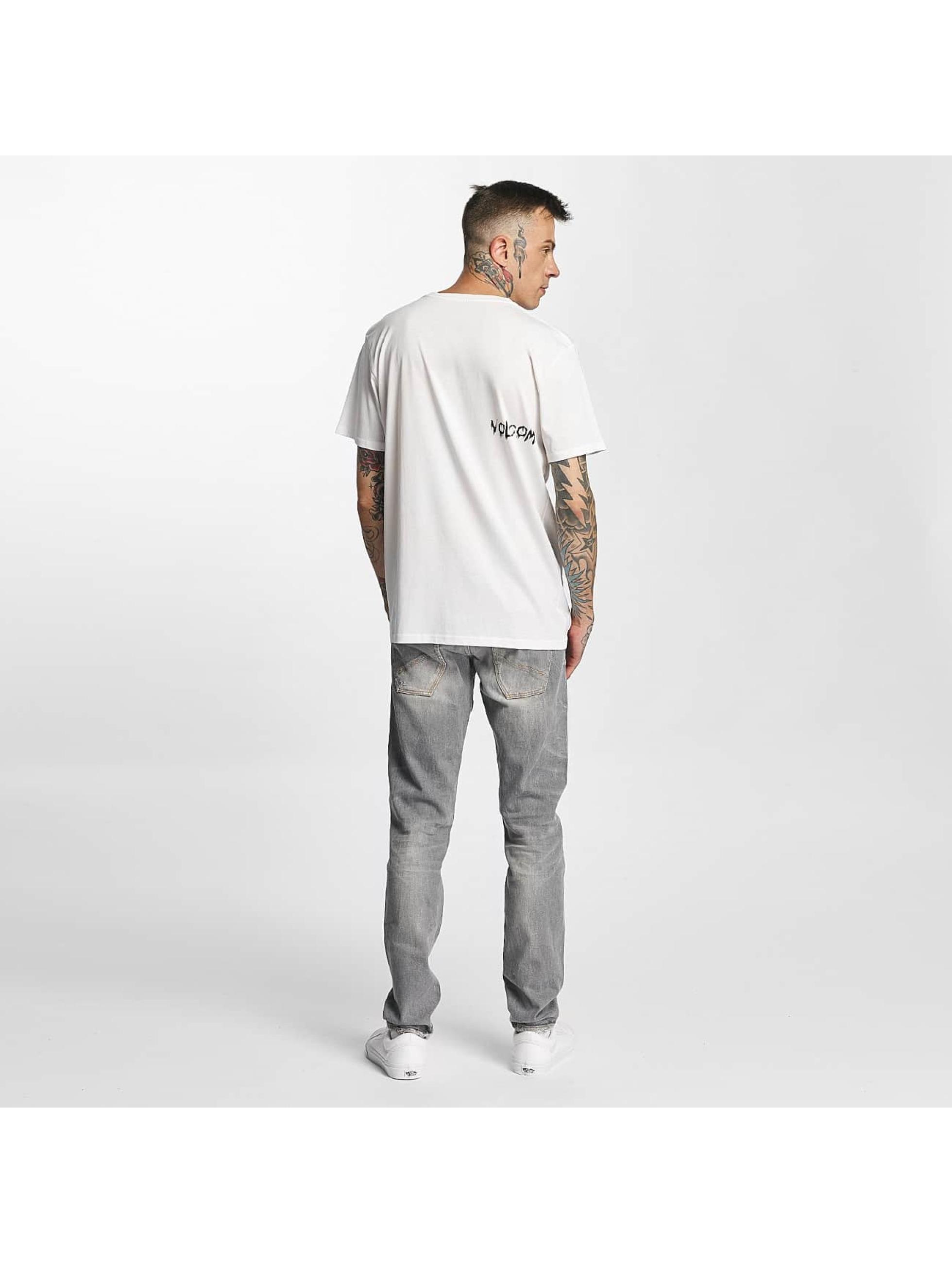 Volcom T-skjorter Sludgestone Basic hvit