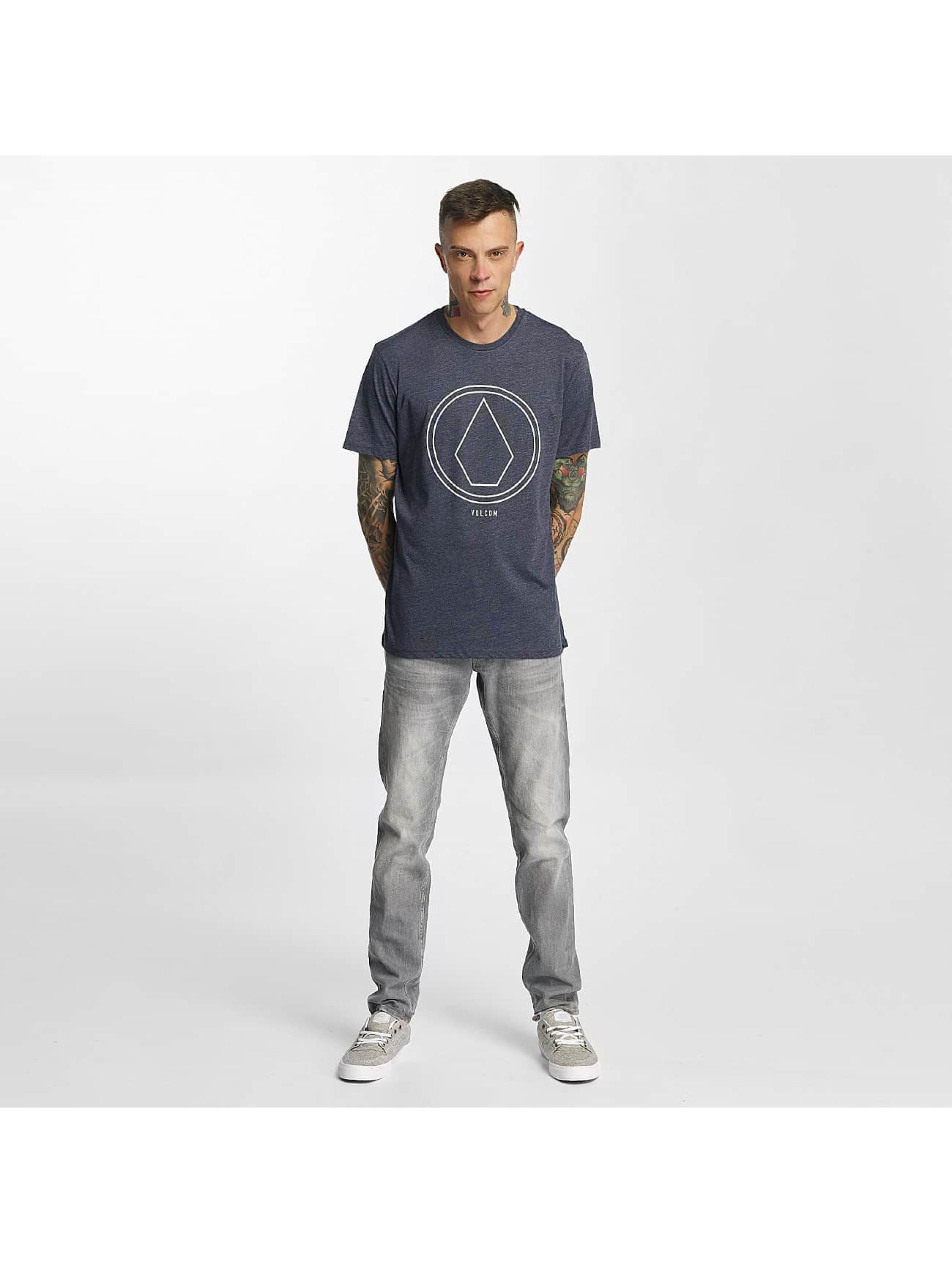 Volcom T-skjorter Pinline Stone Heather indigo