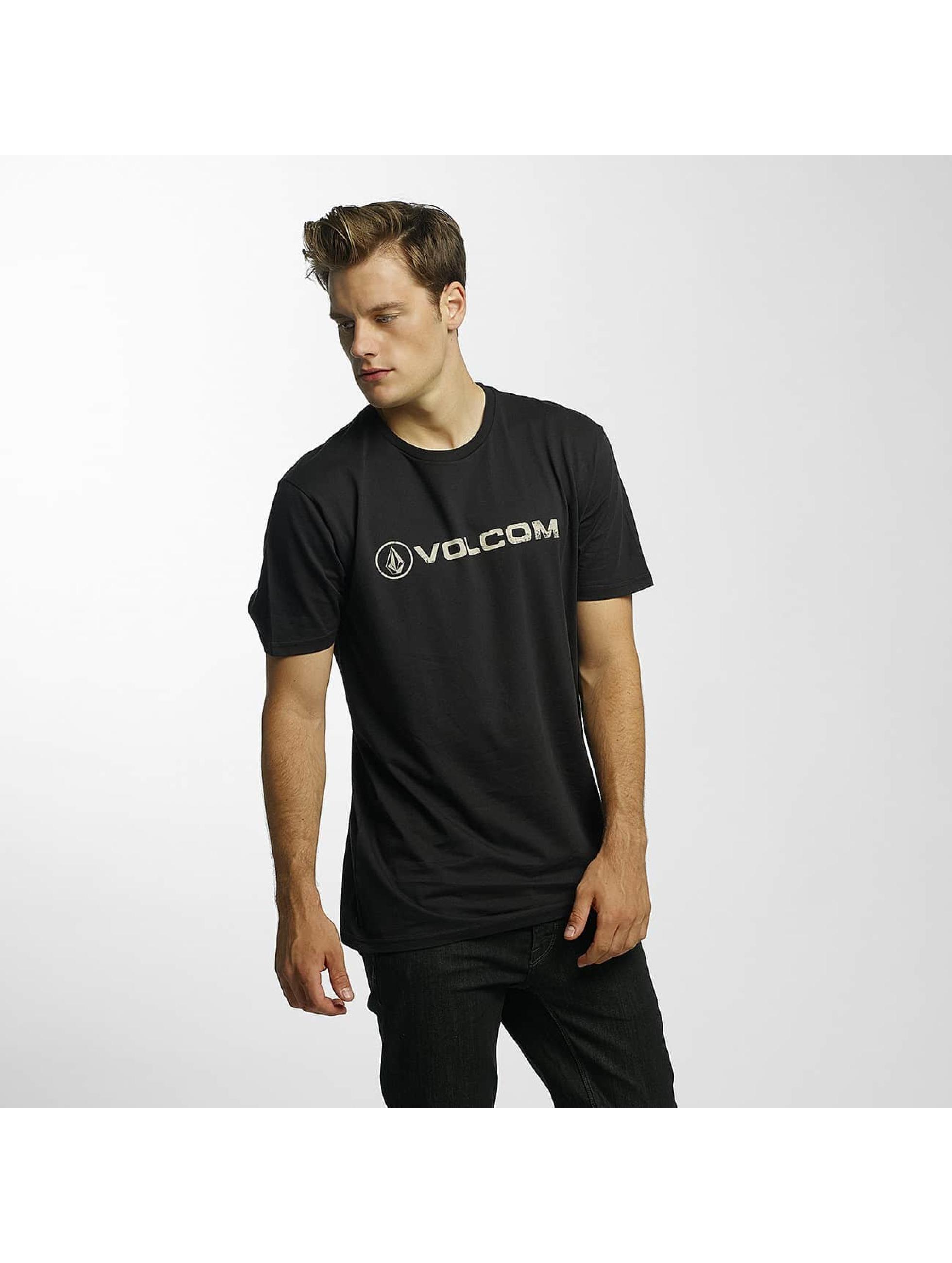 Volcom T-skjorter Line Euro Basic svart