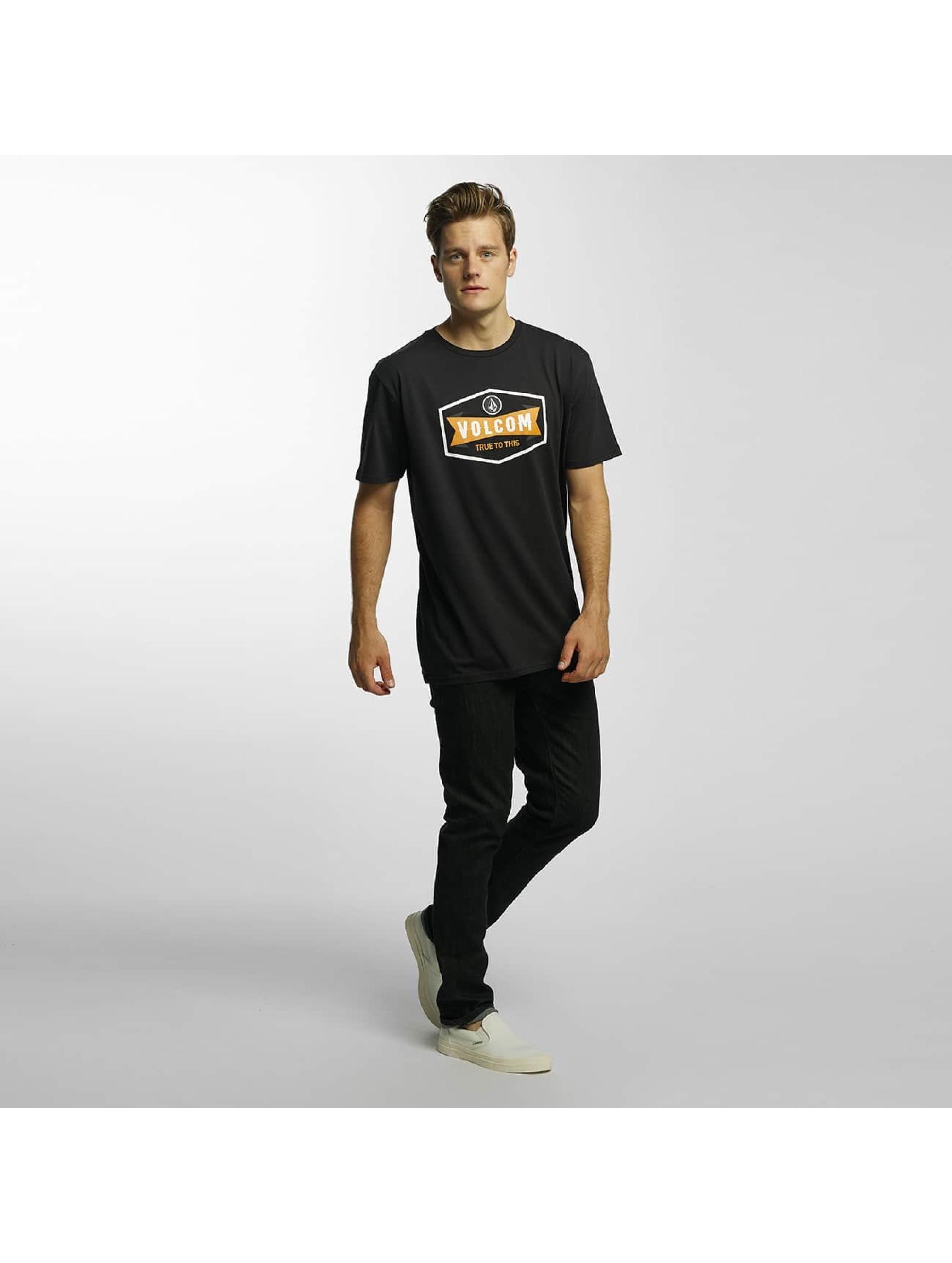 Volcom T-skjorter Budy Basic svart