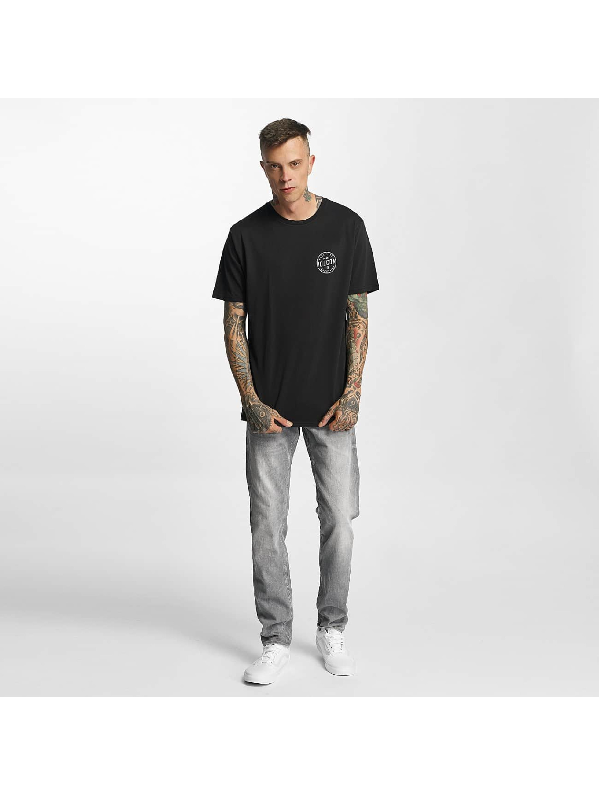 Volcom T-skjorter On Look Basic svart