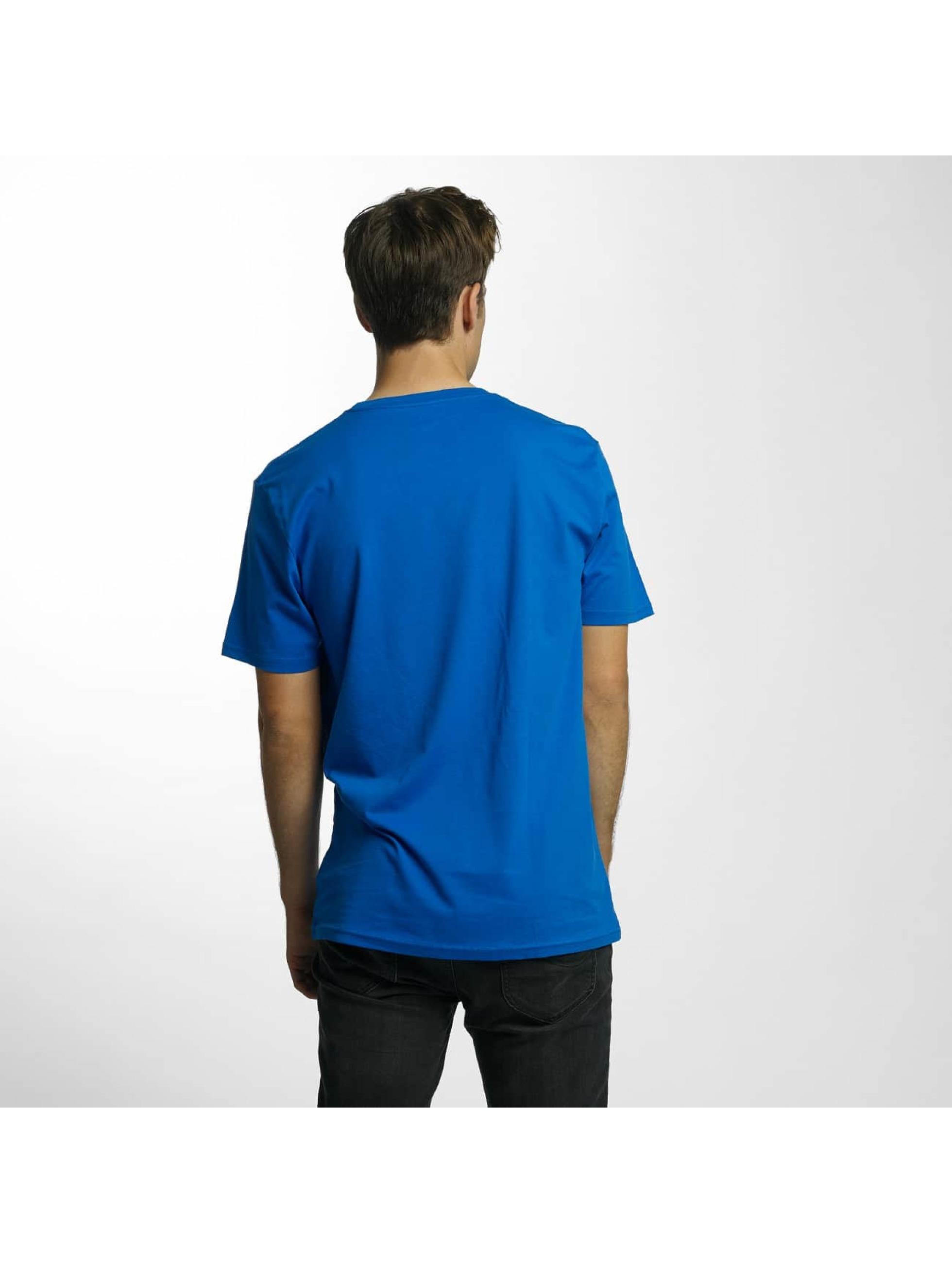 Volcom Tričká Line Euro Basic modrá