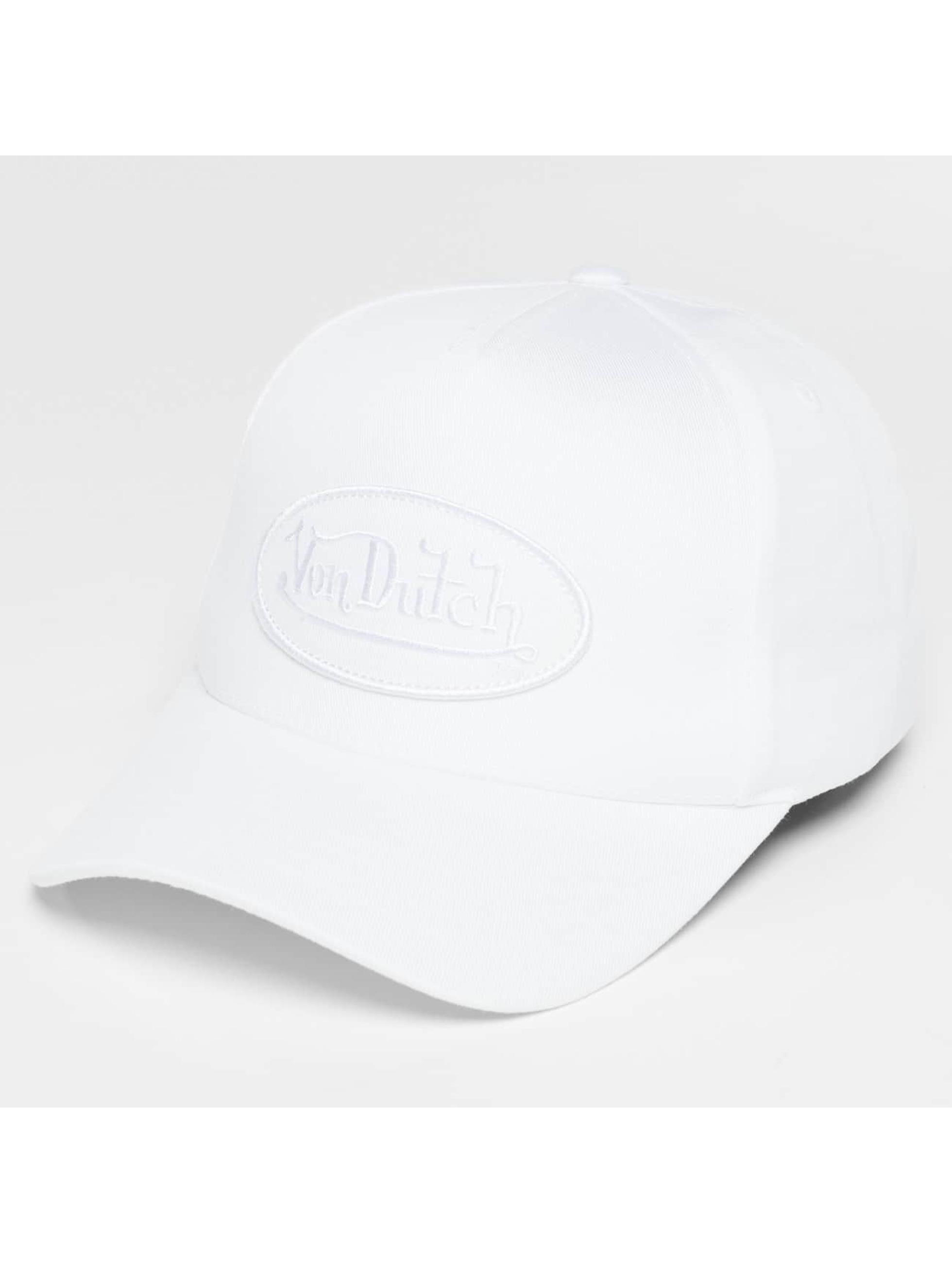 Von Dutch snapback cap Classic wit