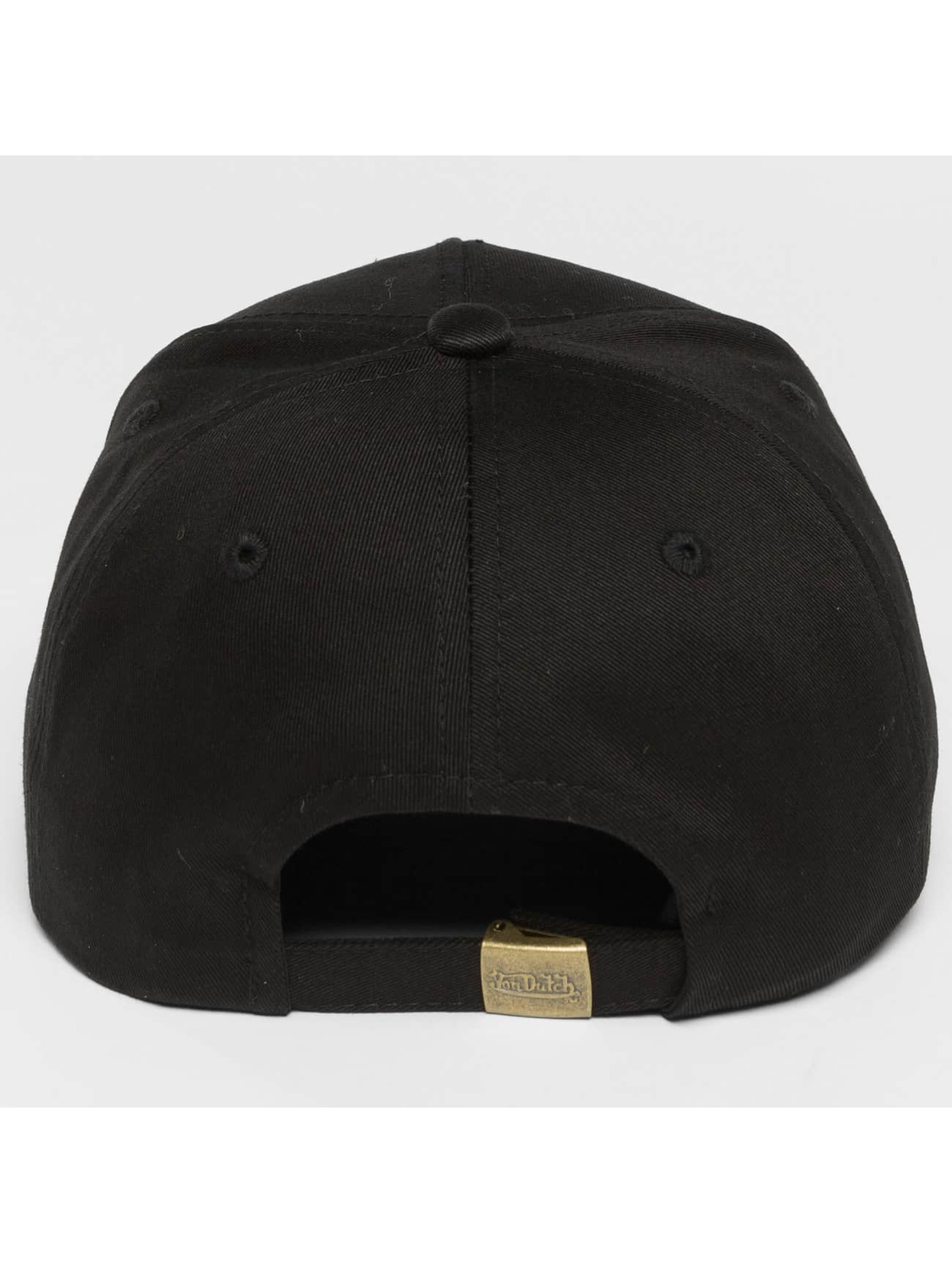 Von Dutch snapback cap California zwart