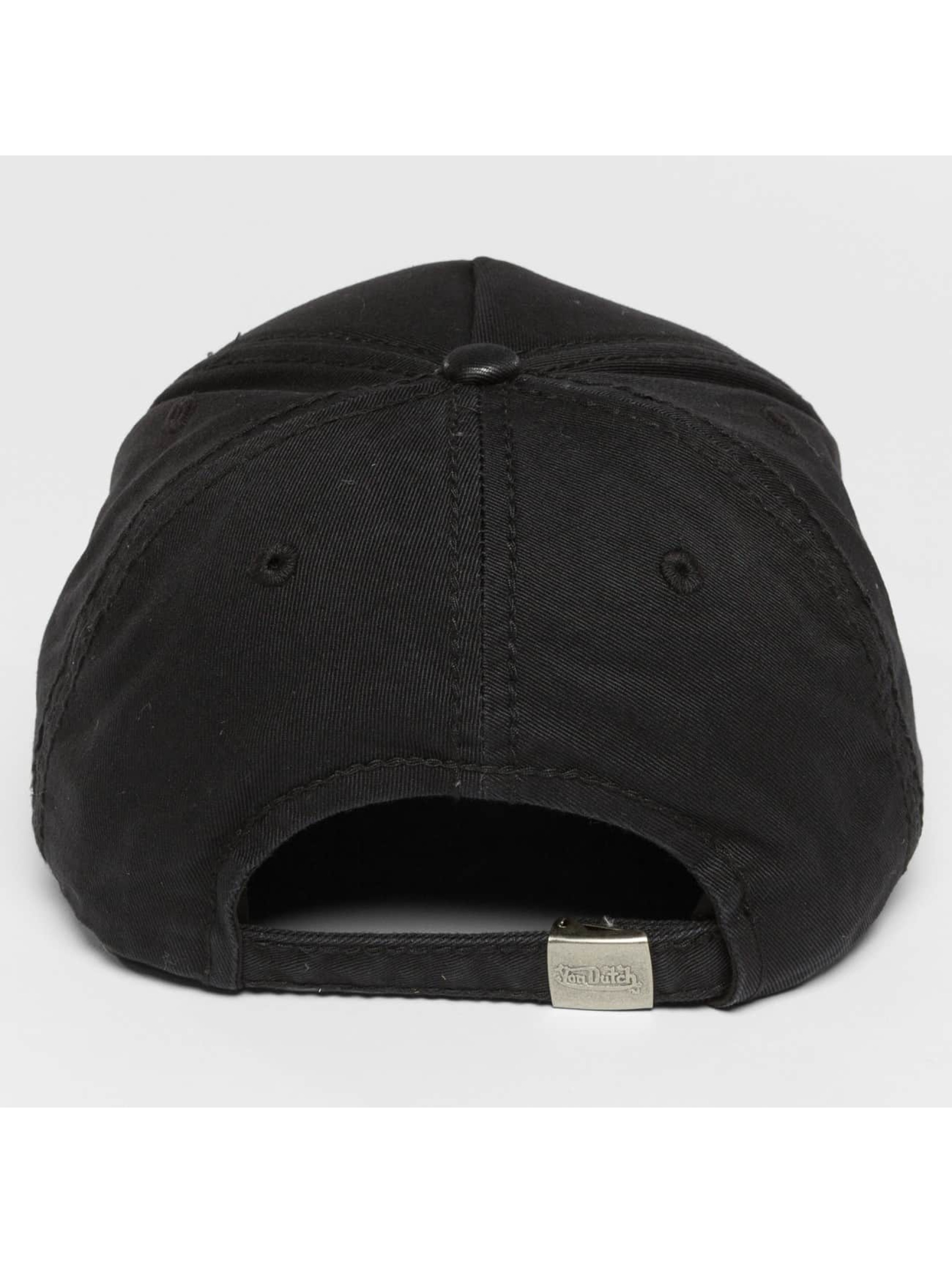 Von Dutch Snapback Caps Pad musta