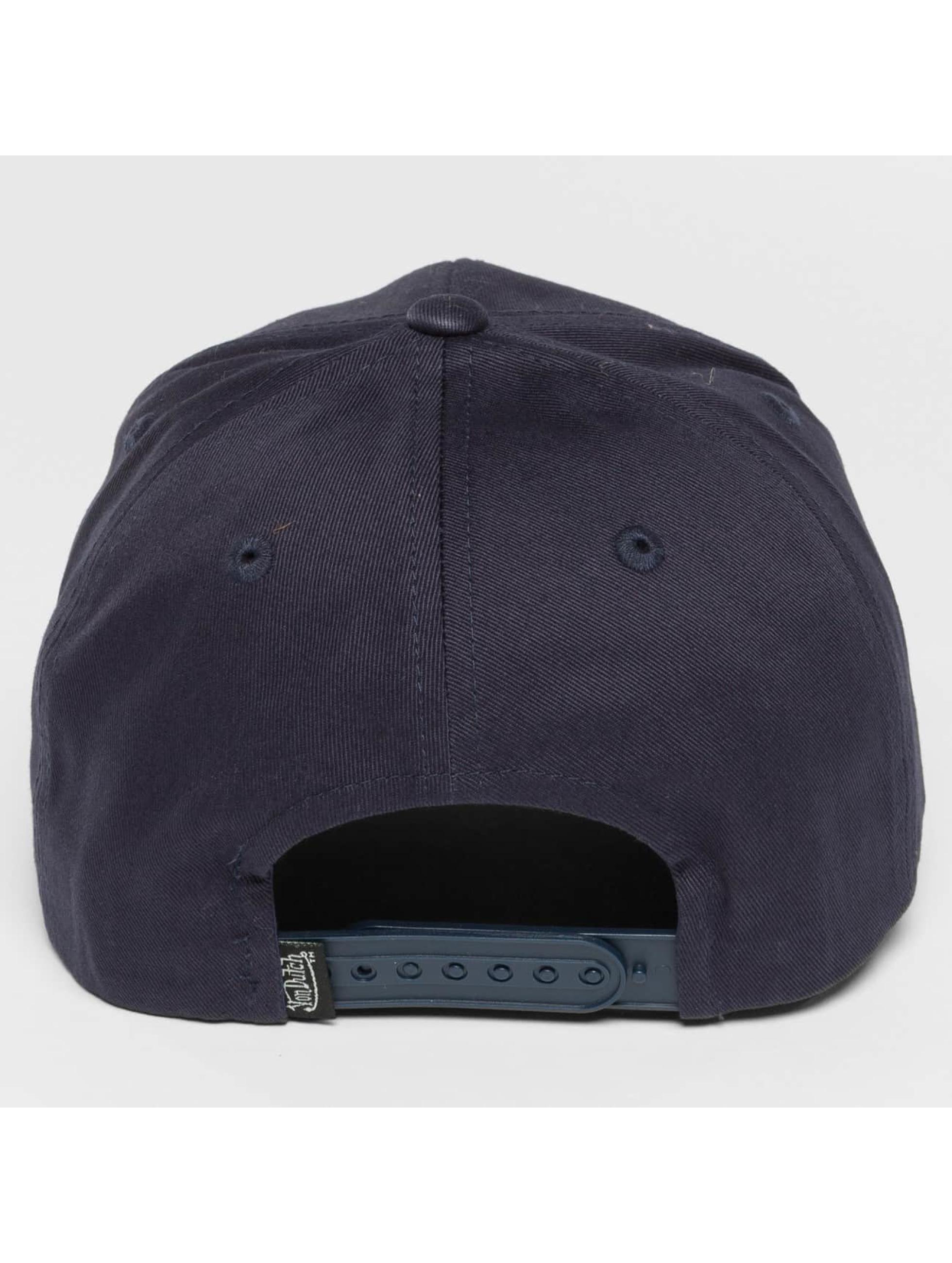 Von Dutch Snapback Caps Classic niebieski