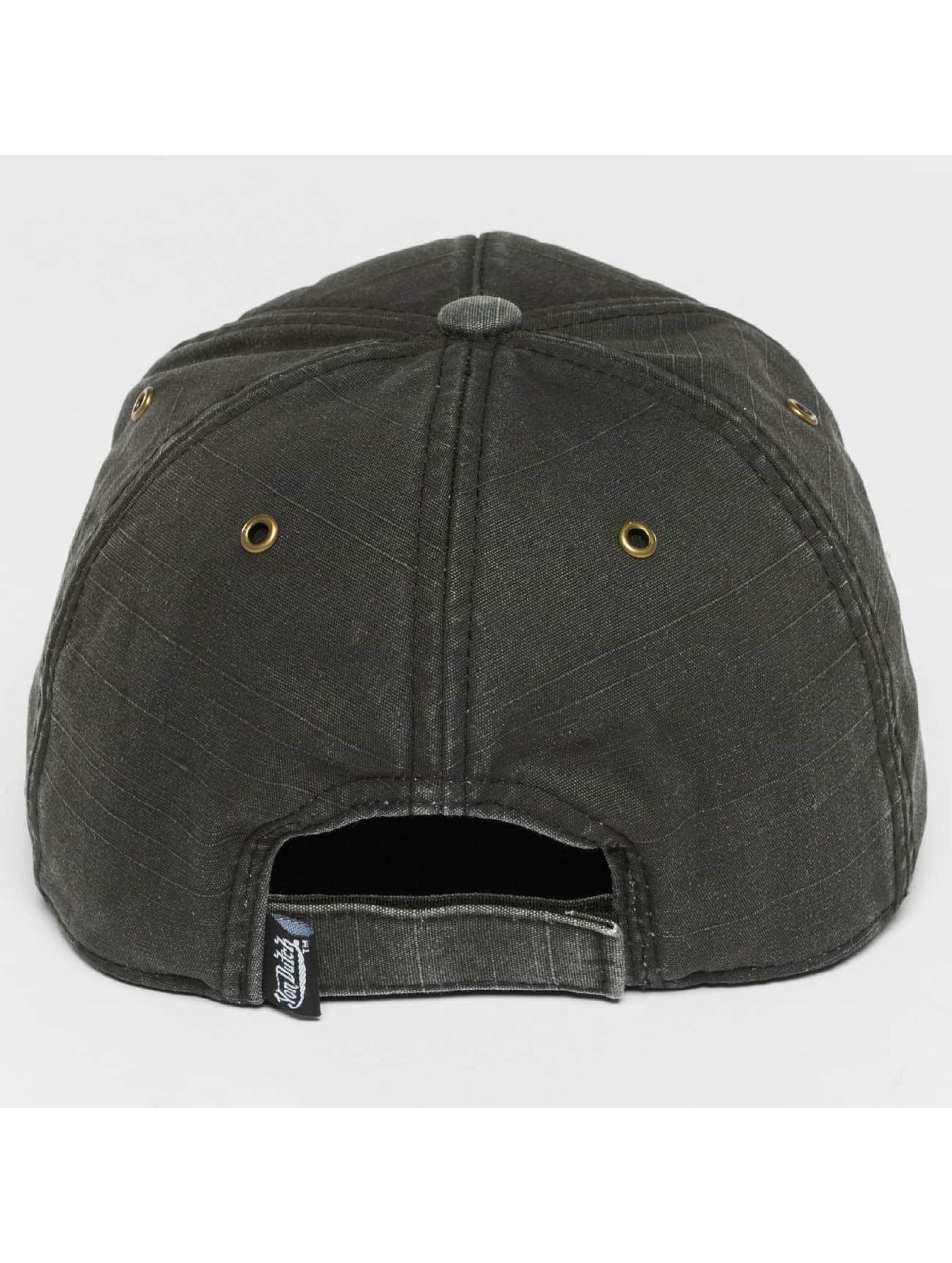 Von Dutch Snapbackkeps Velcro svart