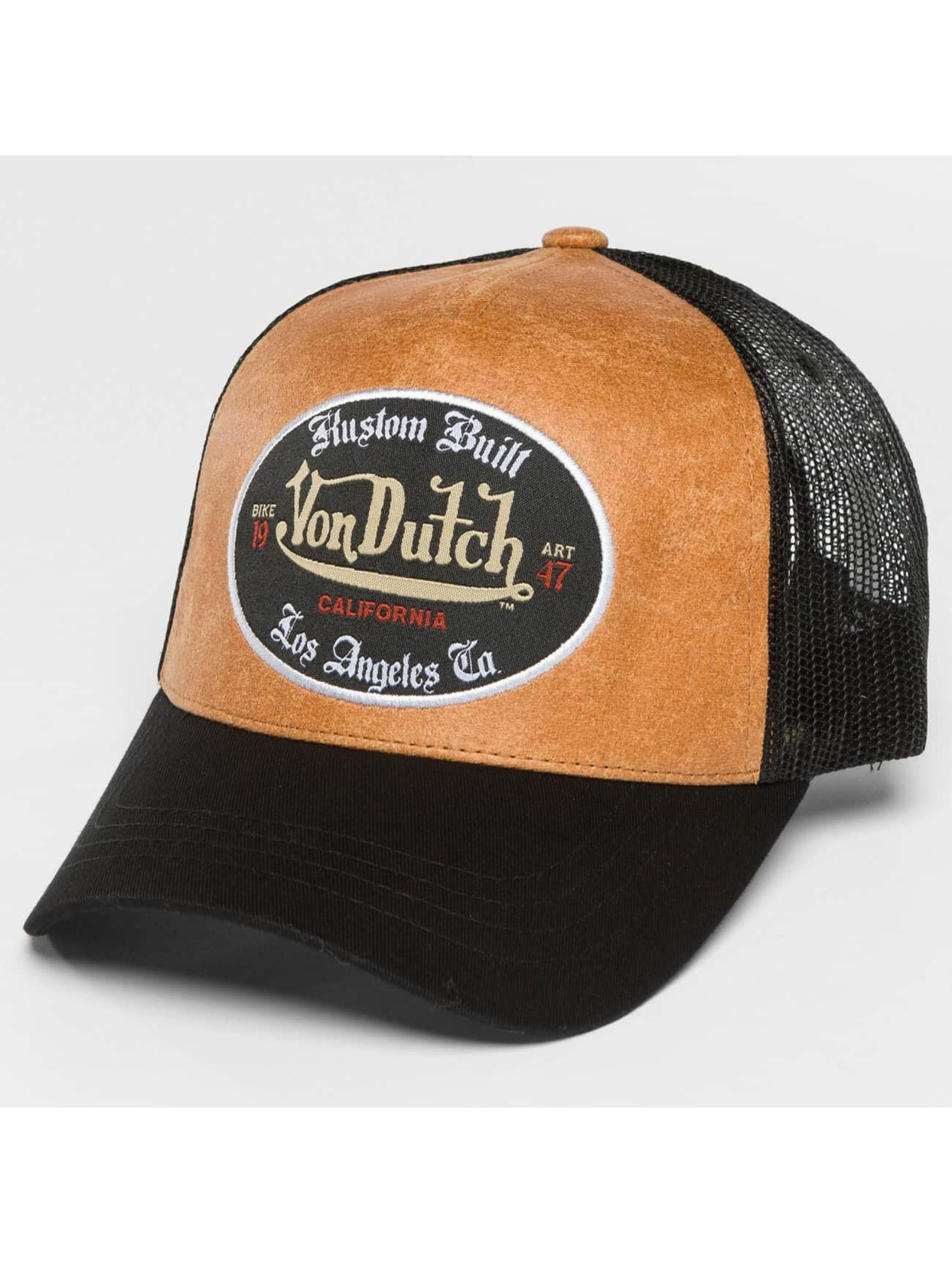 Von Dutch Trucker Cap California schwarz
