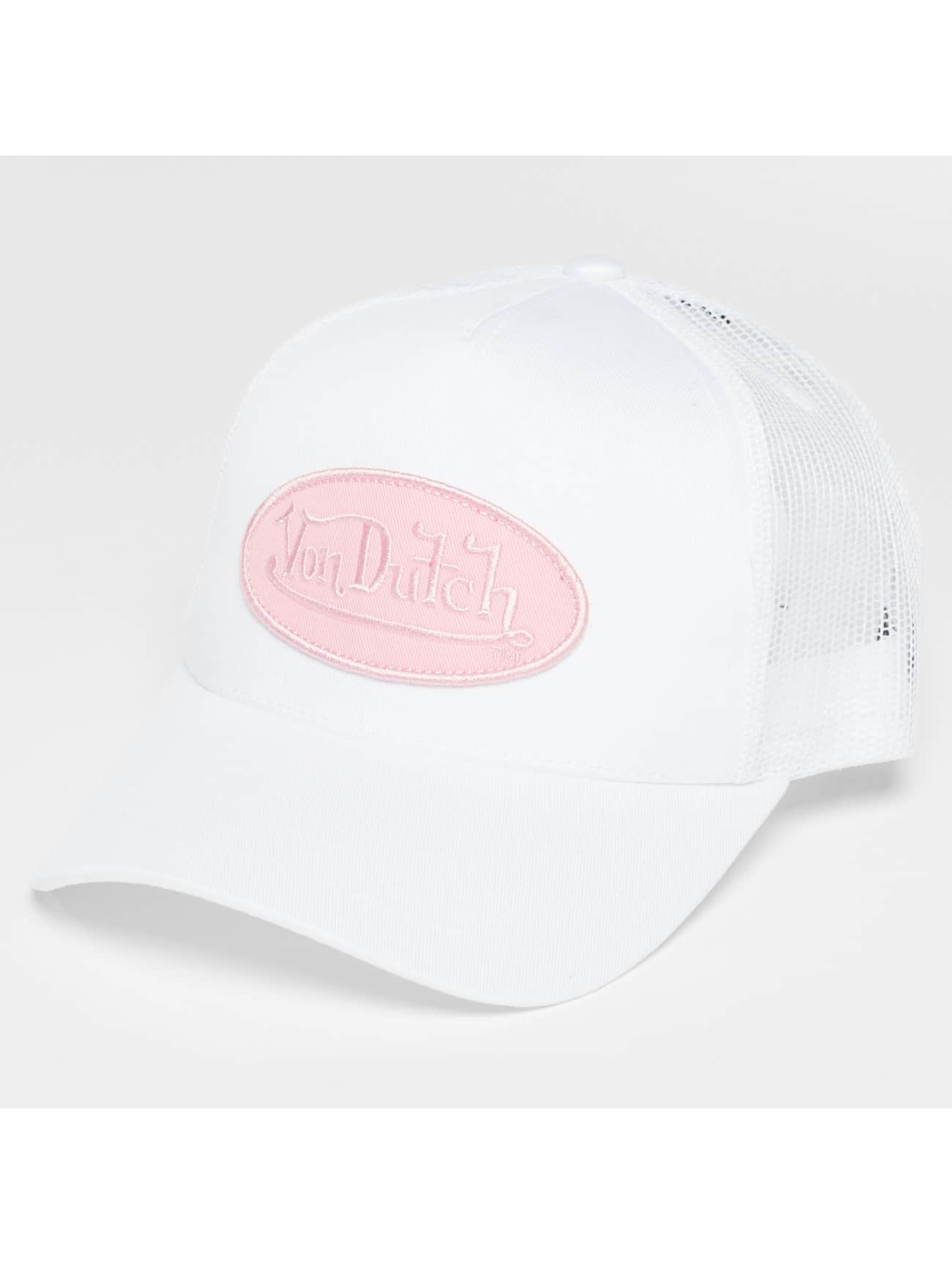 Von Dutch Trucker Caps Classic bialy
