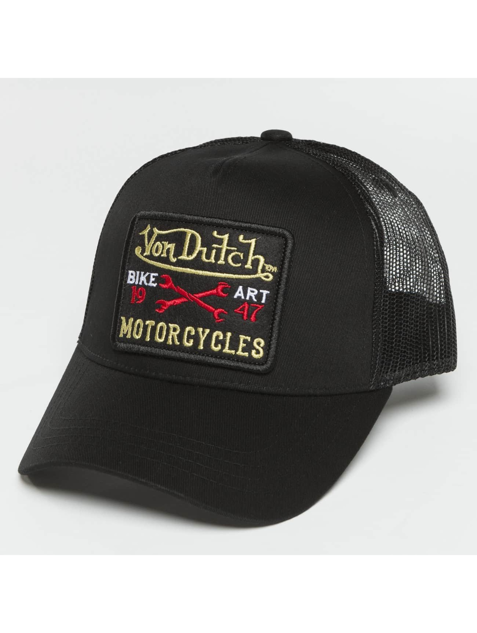 Von Dutch Trucker Caps Bike Art svart