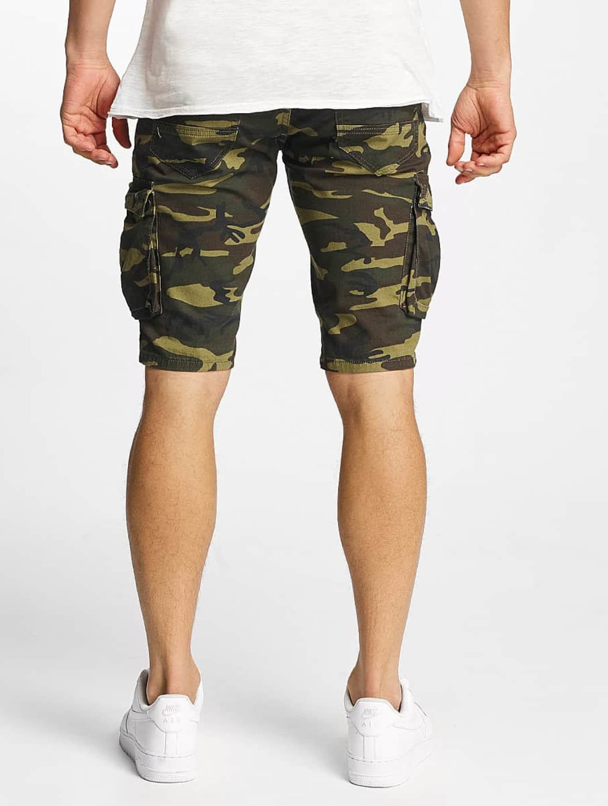 VSCT Clubwear Šortky Biker kamufláž