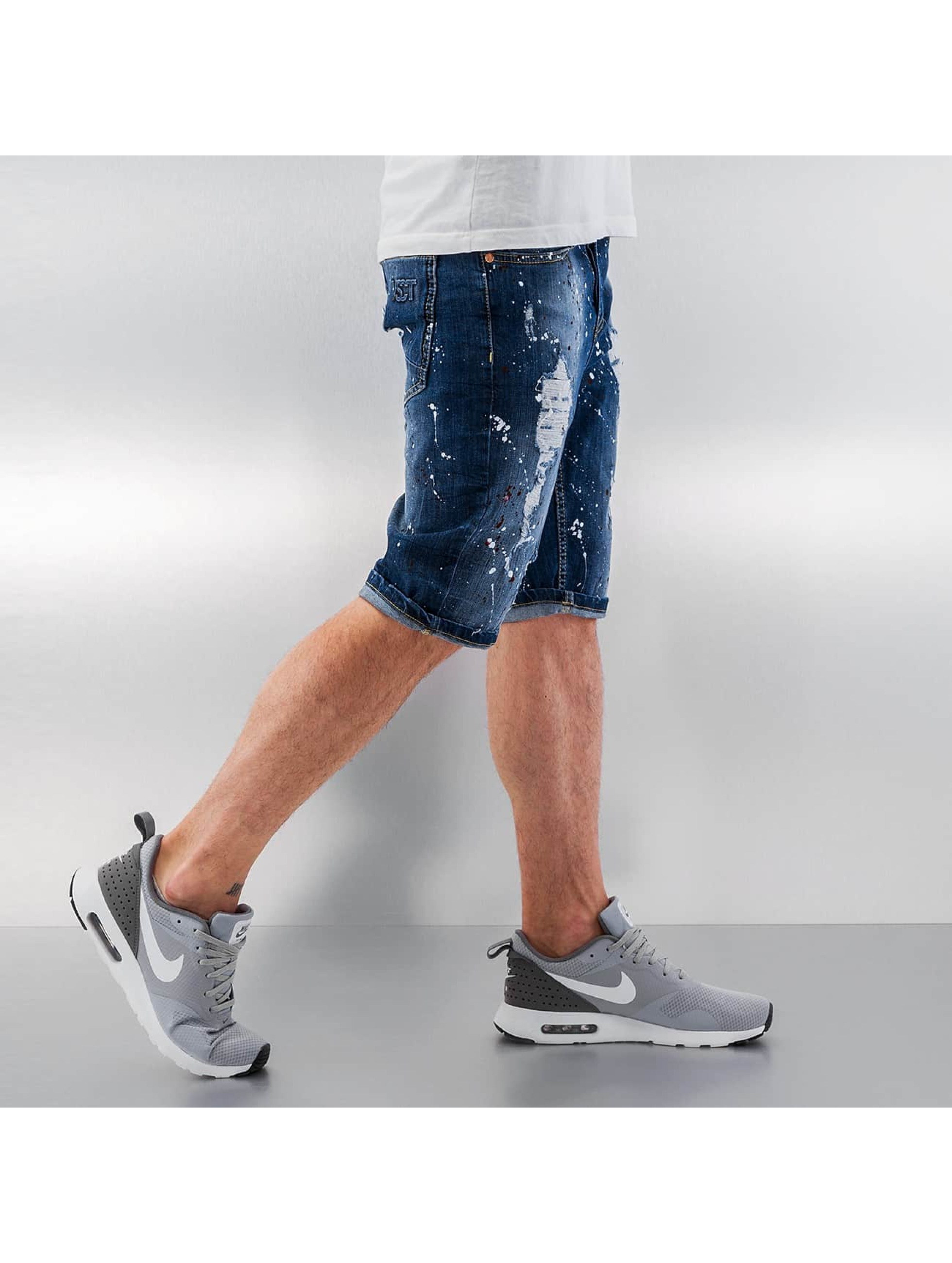 VSCT Clubwear Šortky Alec Stoned modrá