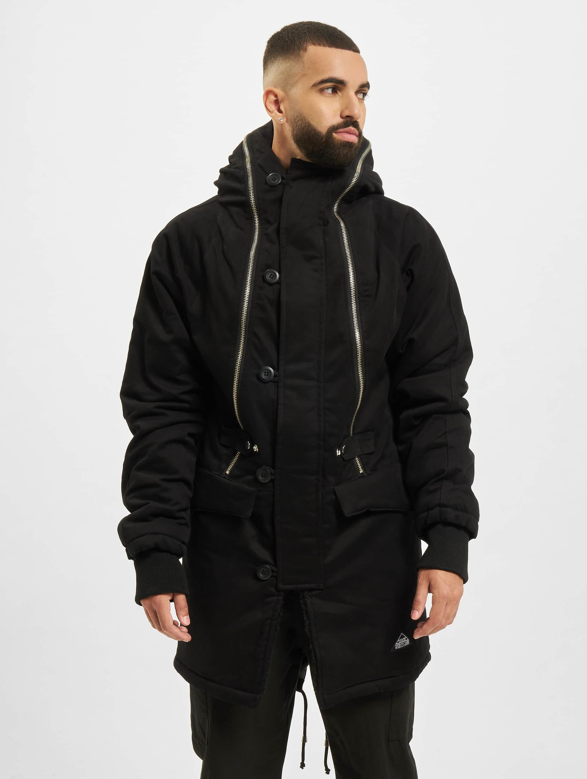 VSCT Clubwear Зимняя куртка Double Zipper Huge Luxury черный