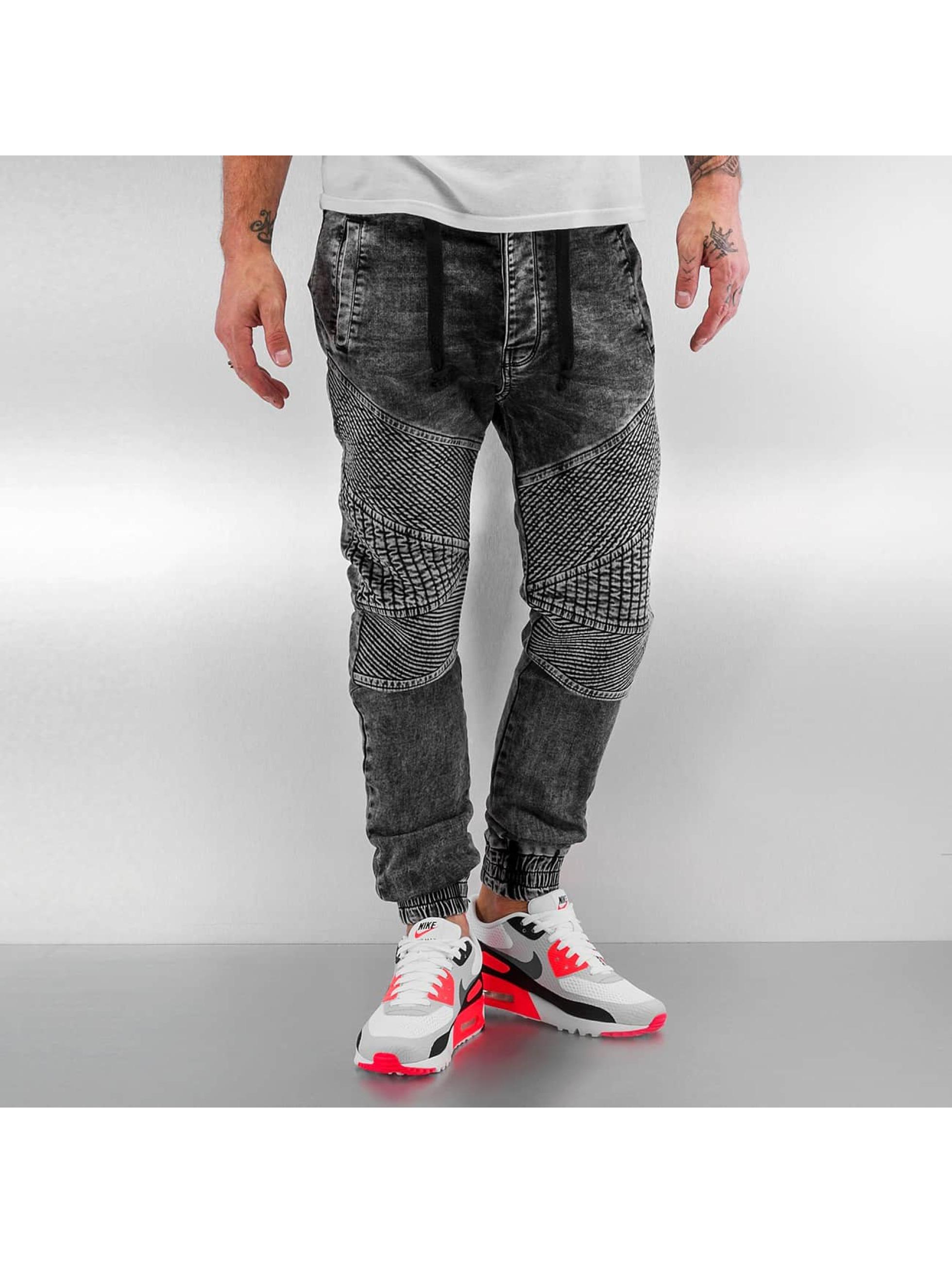VSCT Clubwear Облегающие джинсы Neo Cuffed серый