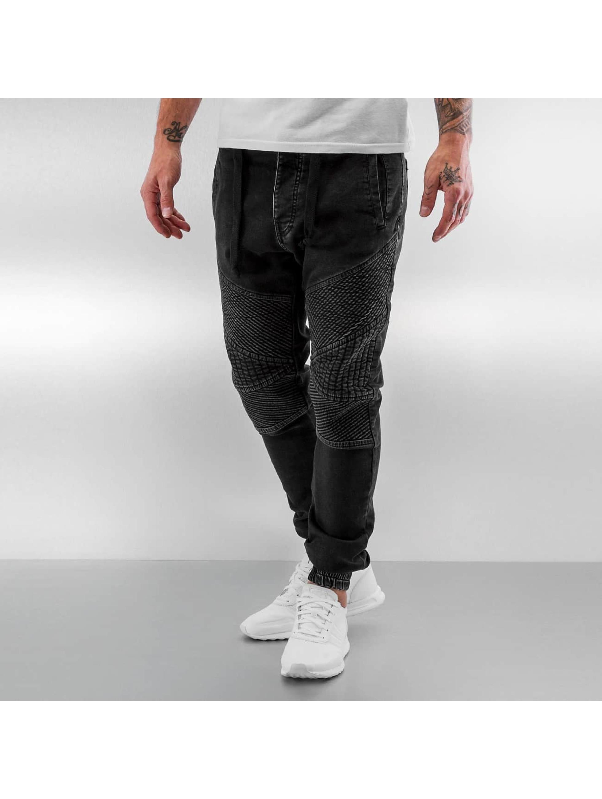 VSCT Clubwear Облегающие джинсы Neo Cuffed черный
