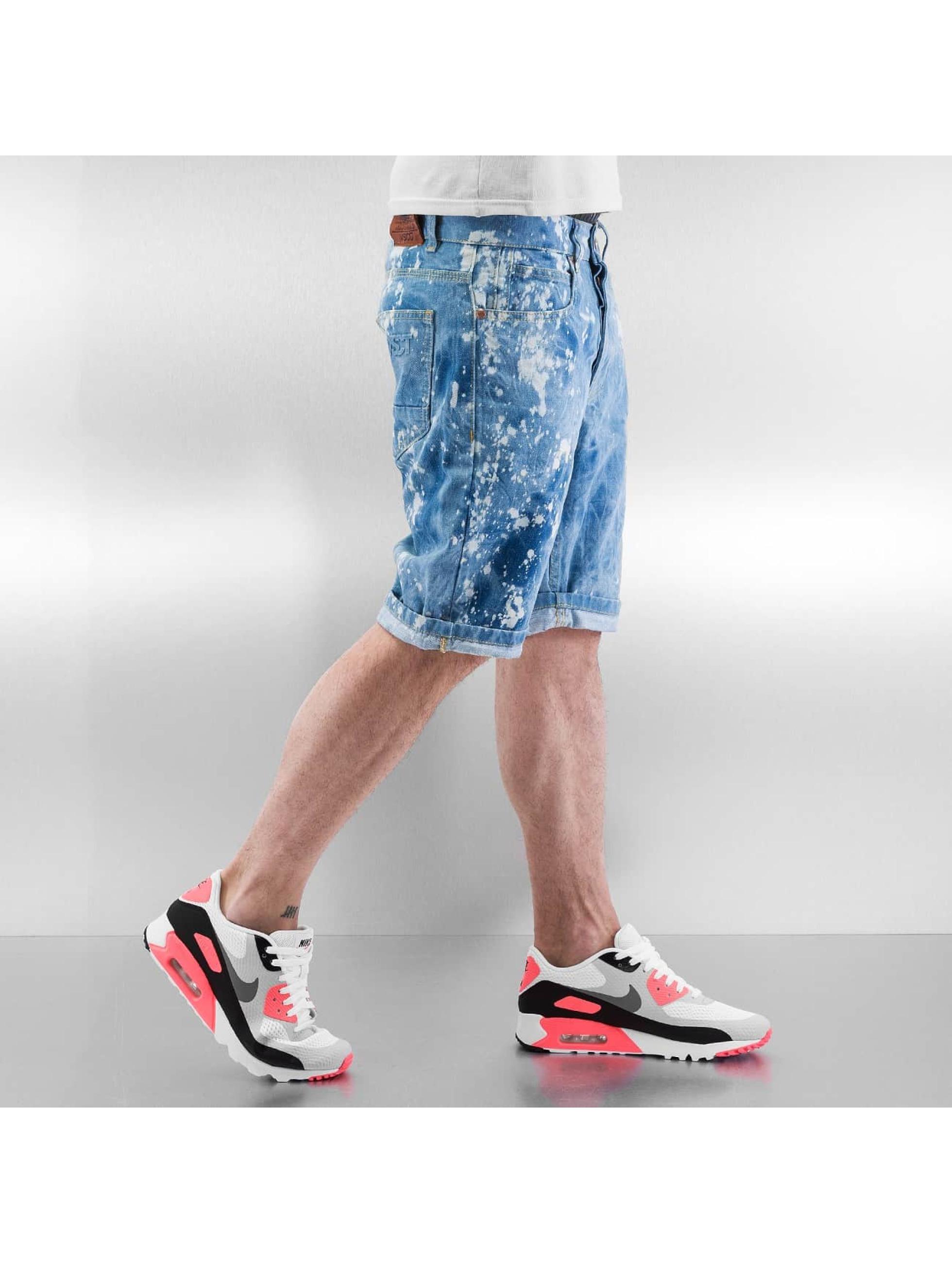 VSCT Clubwear Шорты Alec Bleached Bermuda синий