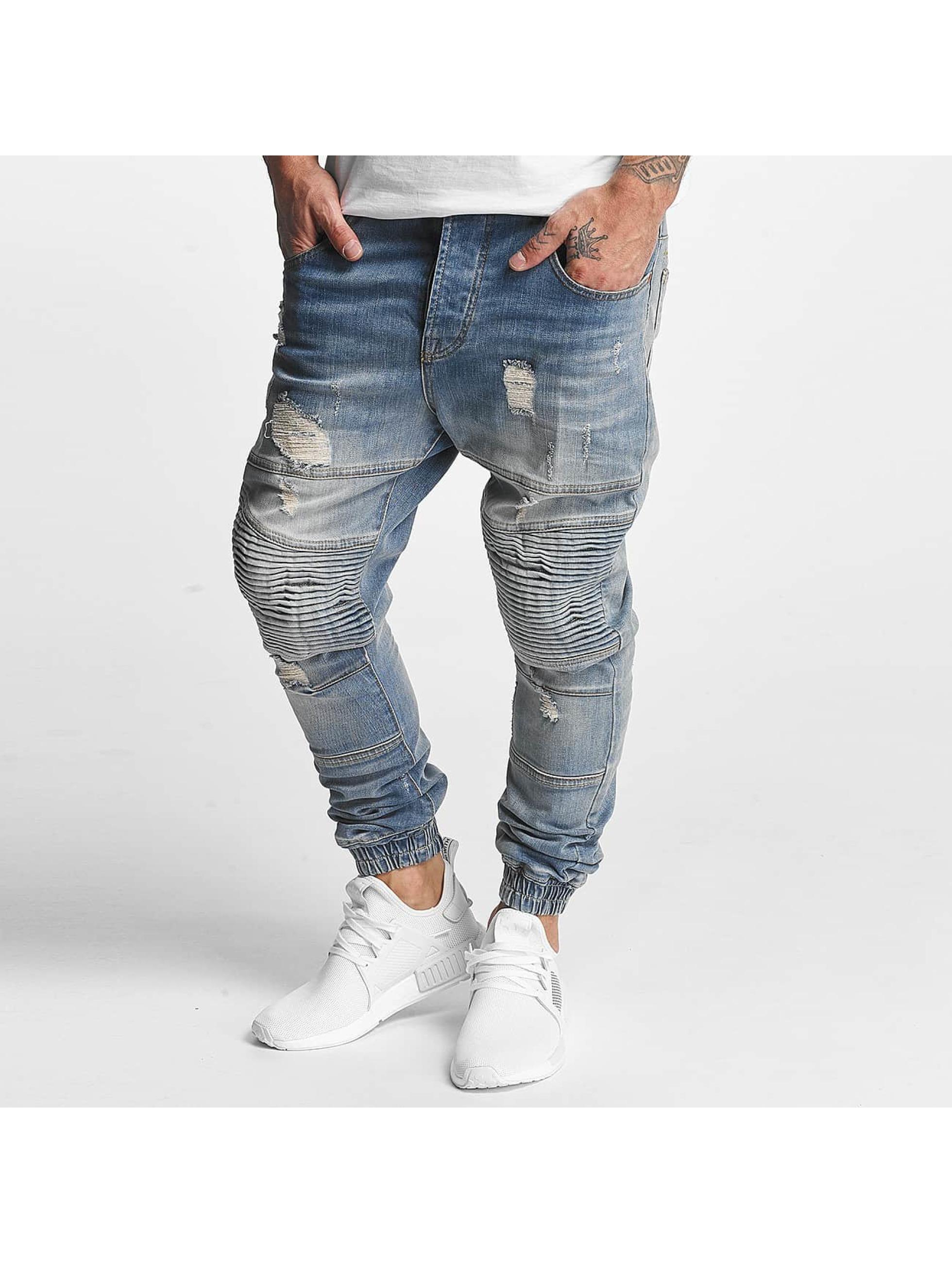 VSCT Clubwear Jean / Antifit Clubwear Noah Biker en bleu