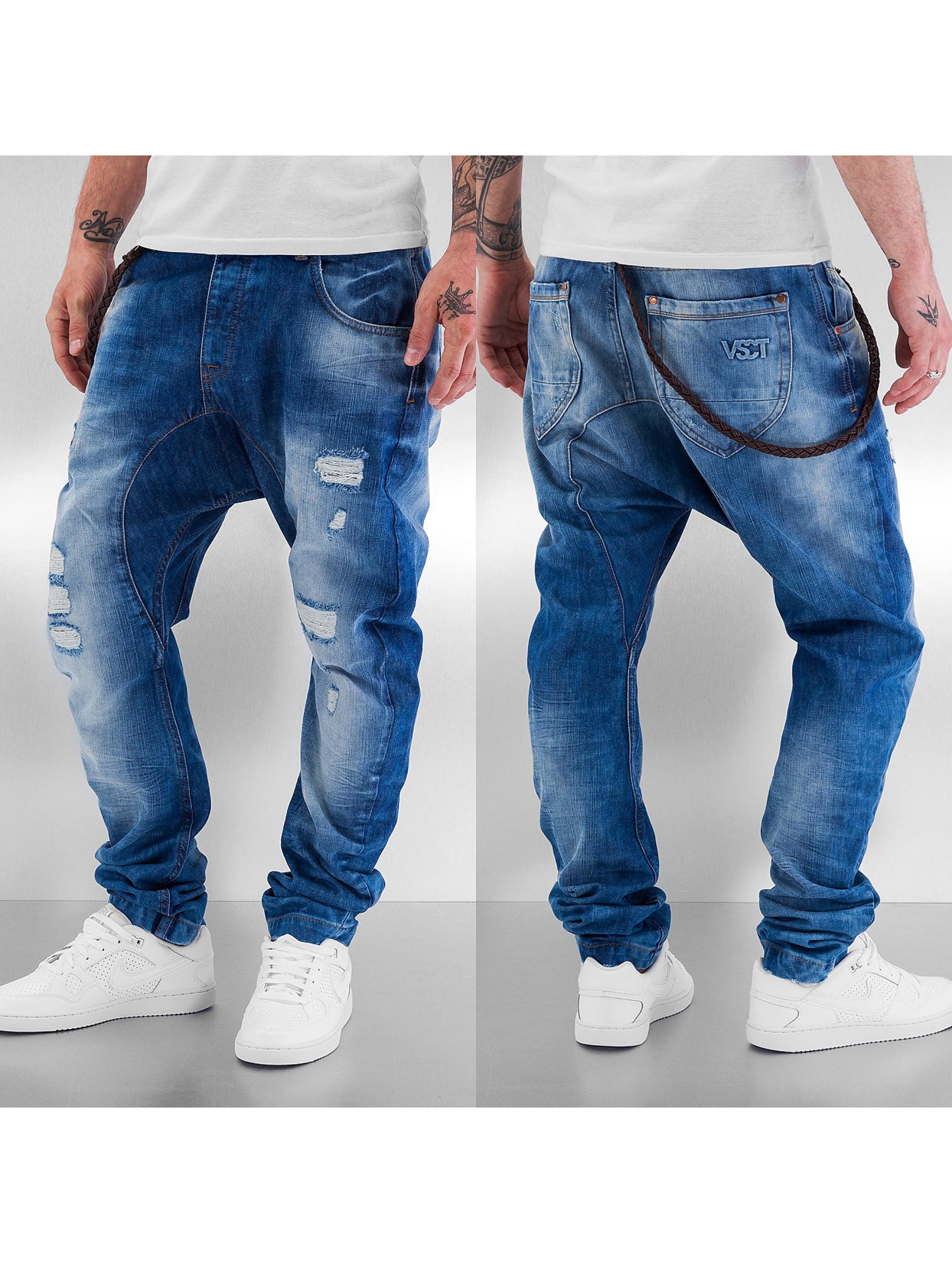 VSCT Clubwear Antifit-farkut Spencer Low Crotch sininen