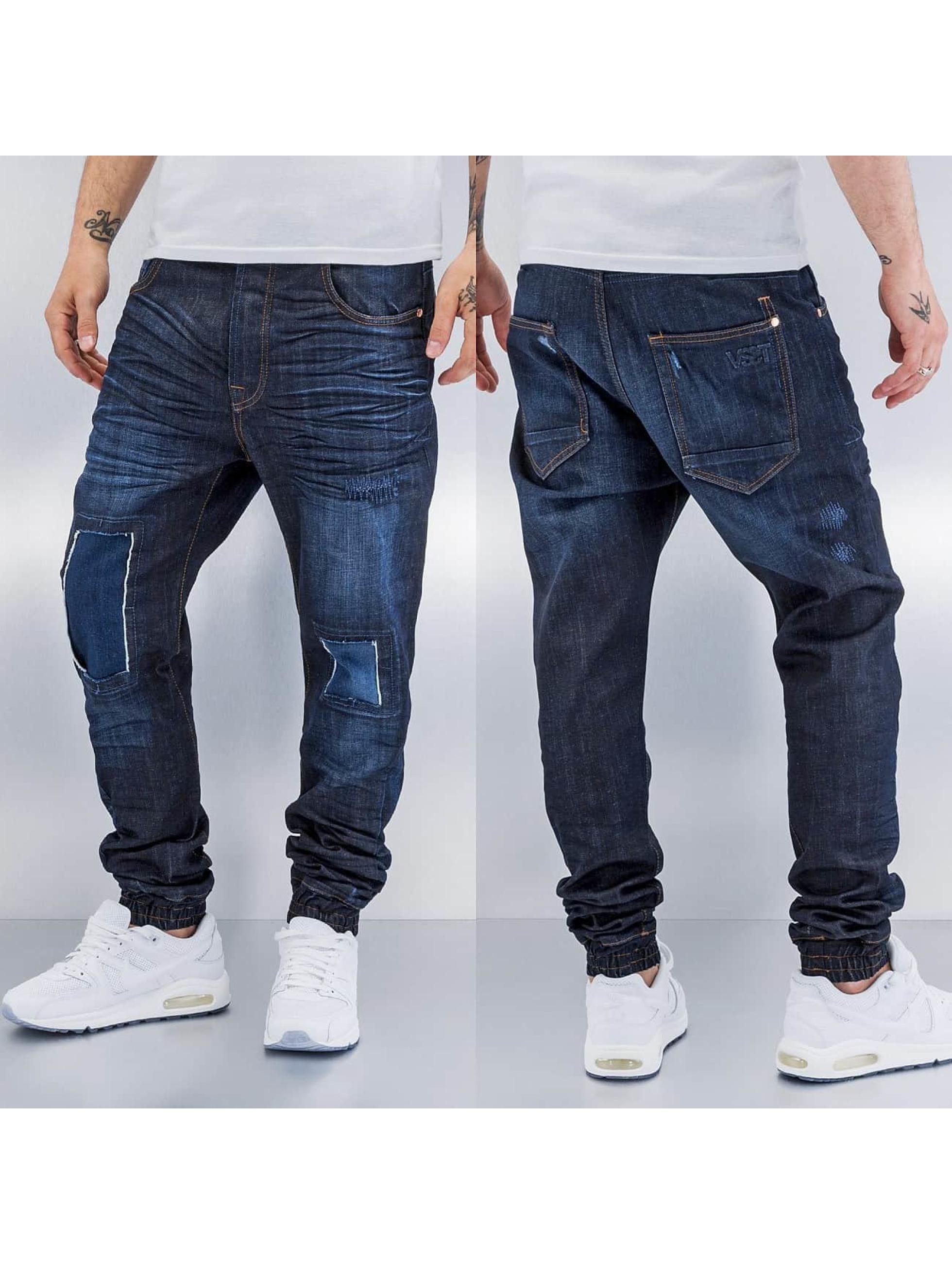 VSCT Clubwear Antifit-farkut Noah Cuffed sininen