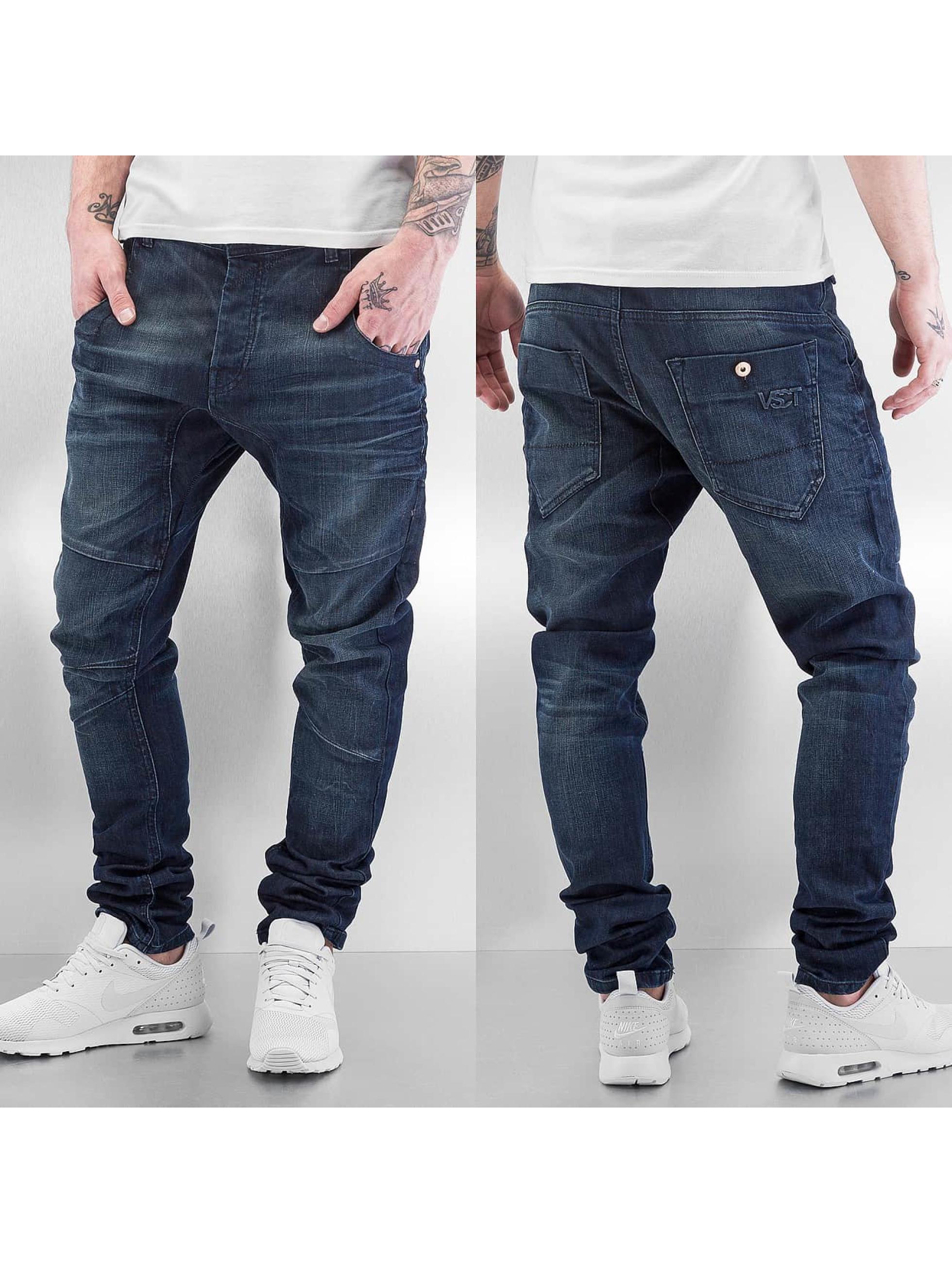 VSCT Clubwear Antifit-farkut Dan Deep Crotch O-Leg sininen