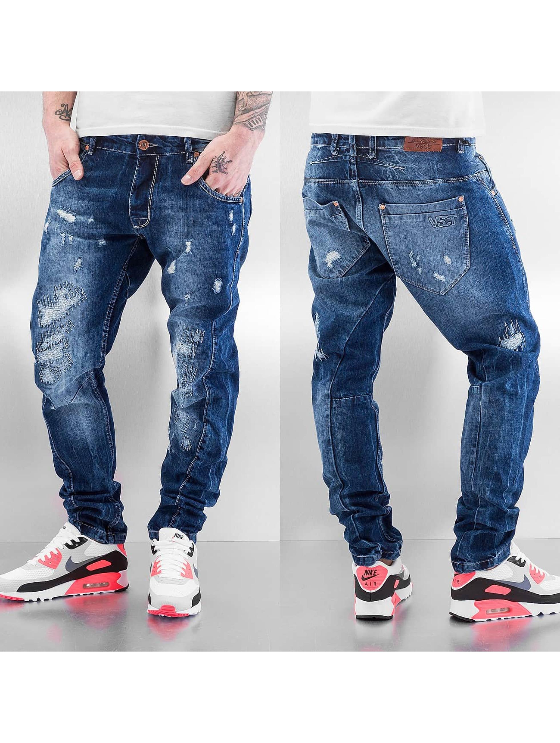 VSCT Clubwear Antifit-farkut Hank Twisted sininen