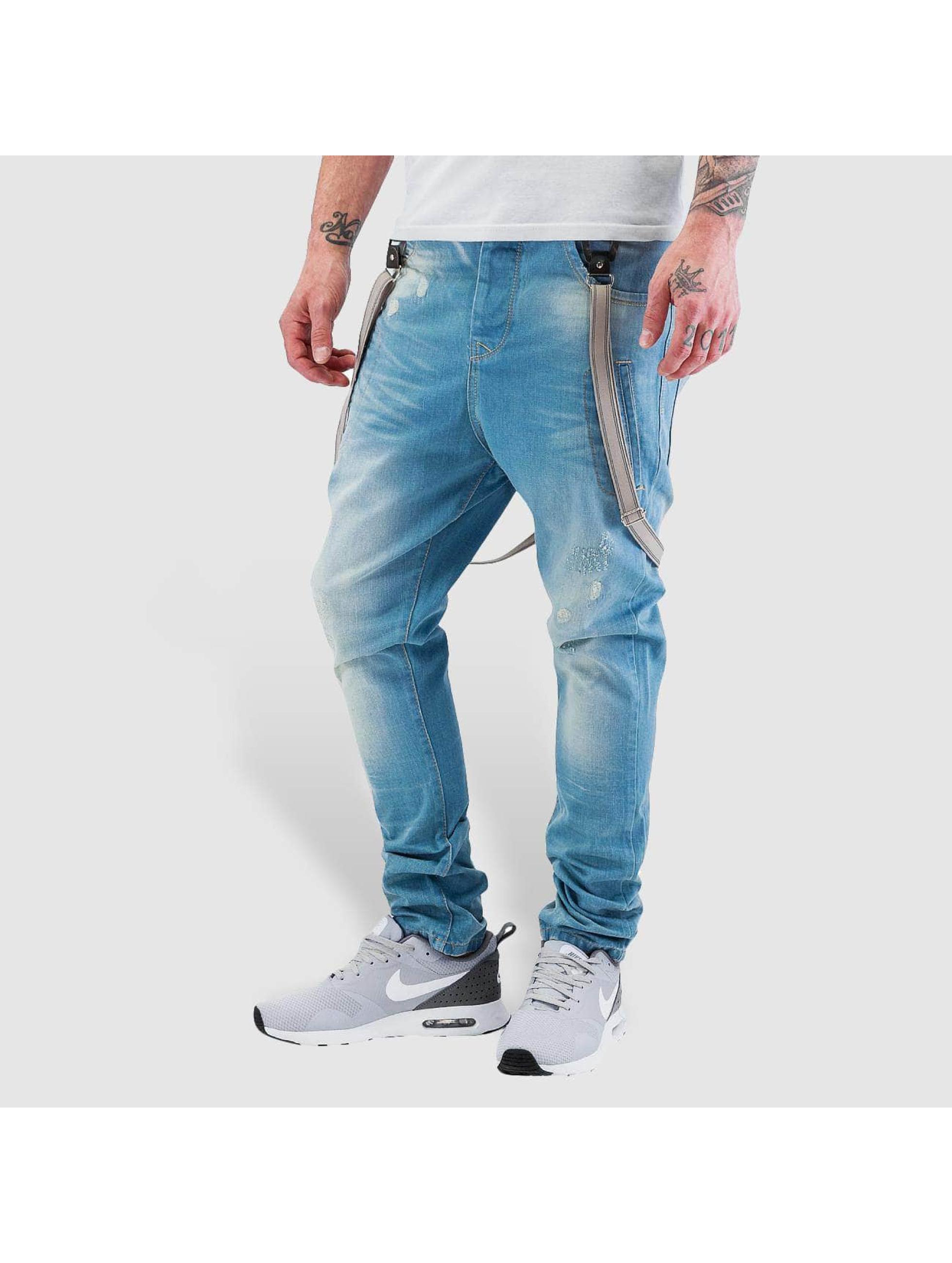 VSCT Clubwear Antifit-farkut Brad Solid sininen