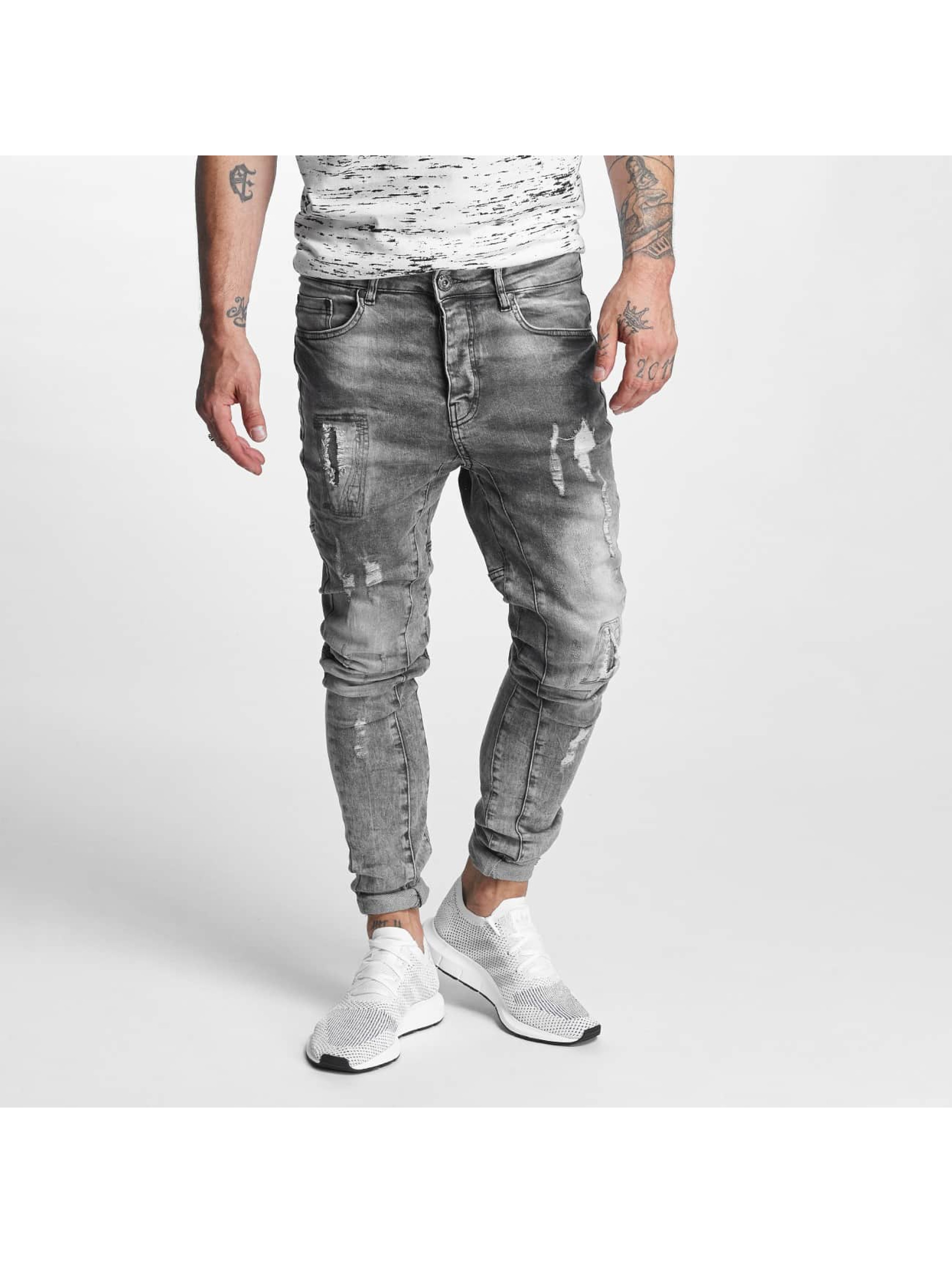 Antifit Chase 5 Pocket Denim in grau