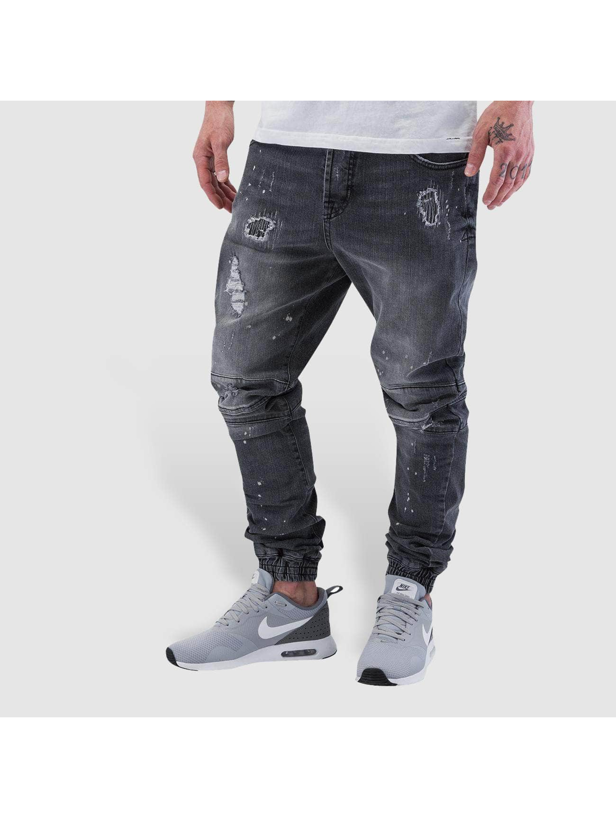 VSCT Clubwear Antifit jeans Norton Cuffed Slim grå