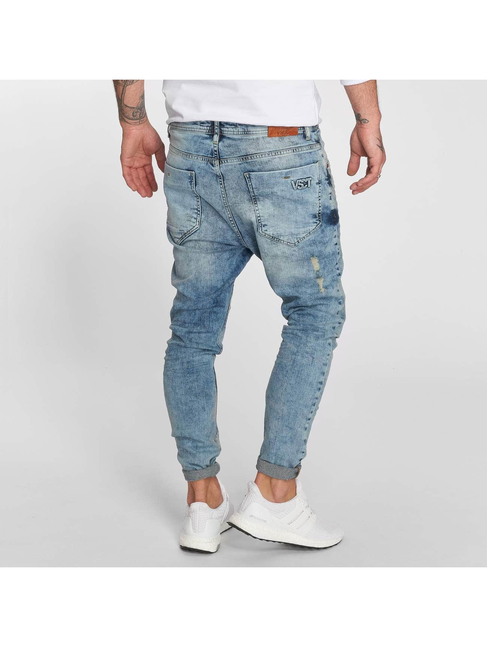 VSCT Clubwear Antifit Keanu Lowcrotch modrá