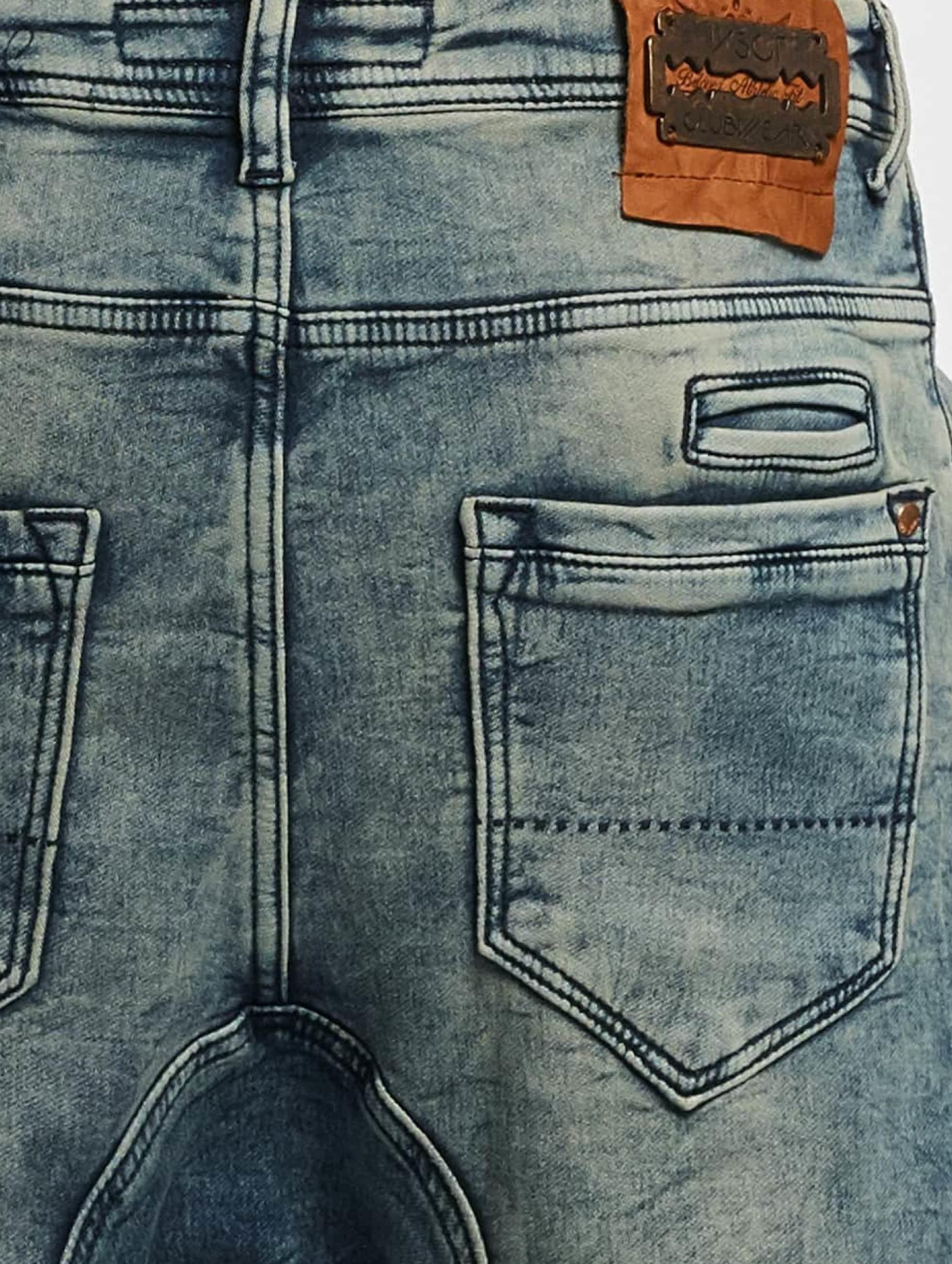 VSCT Clubwear Antifit Noel Cuffed Jogg Bleached niebieski
