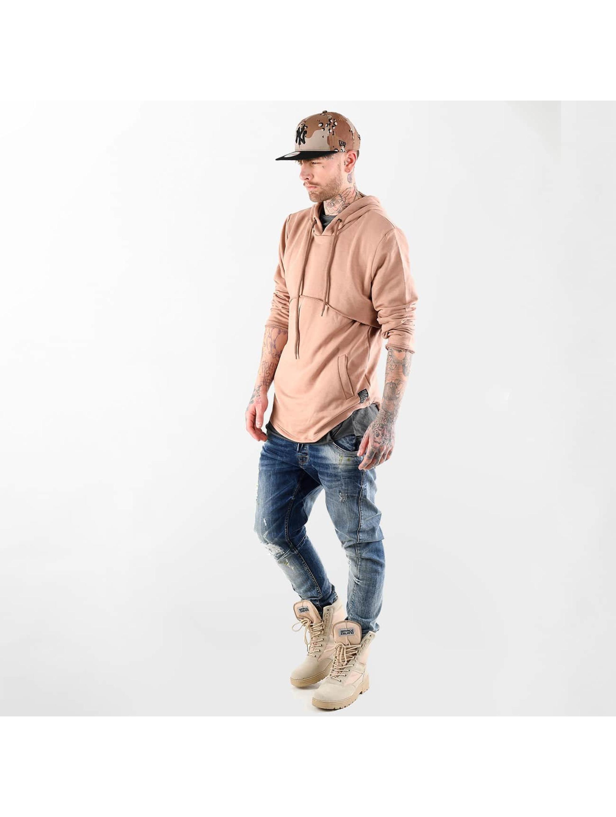 VSCT Clubwear Bluzy z kapturem Layer brazowy