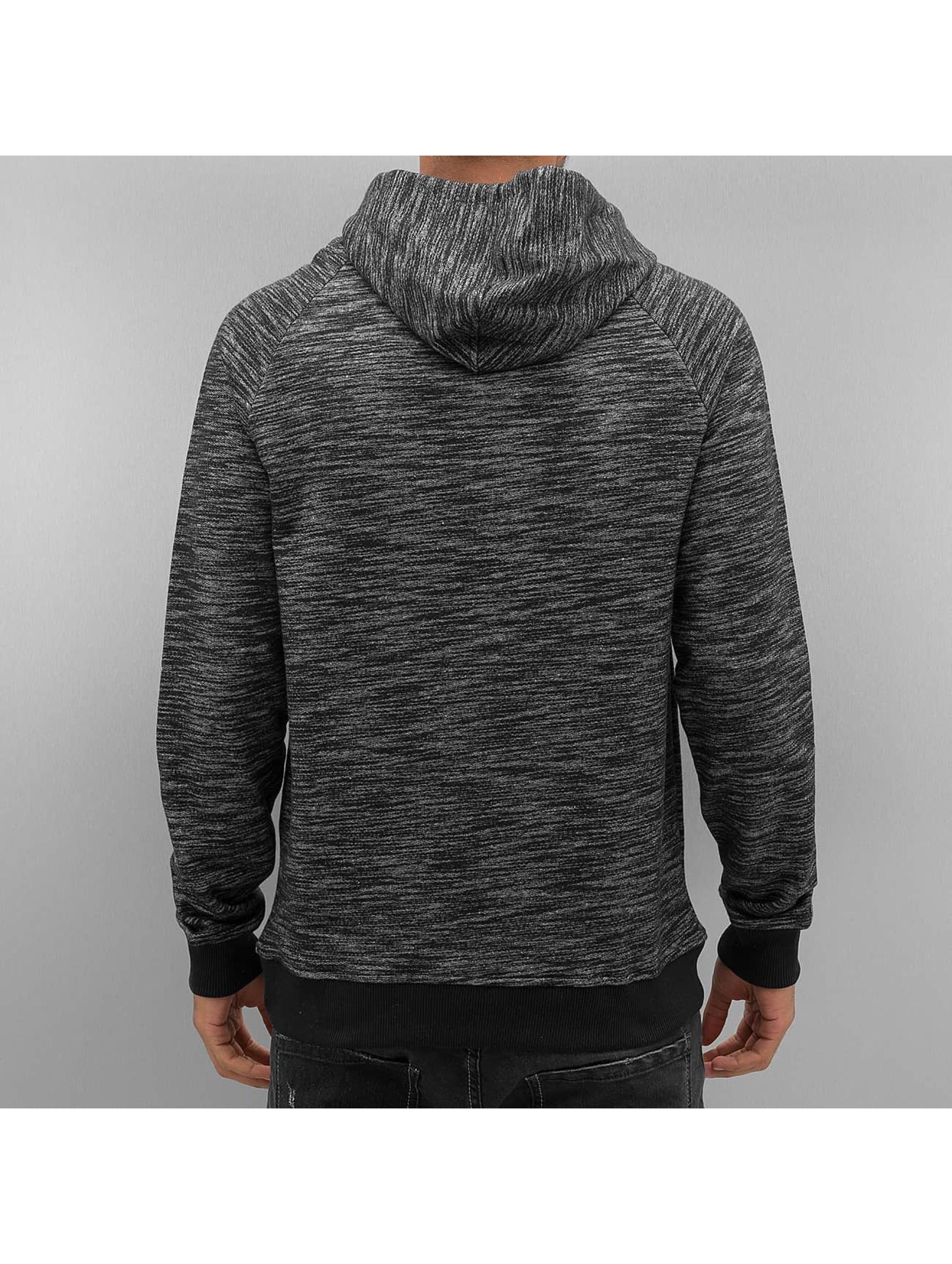 VSCT Clubwear Bluzy z kapturem Shiro 2 Zip Moulinee Kangool szary